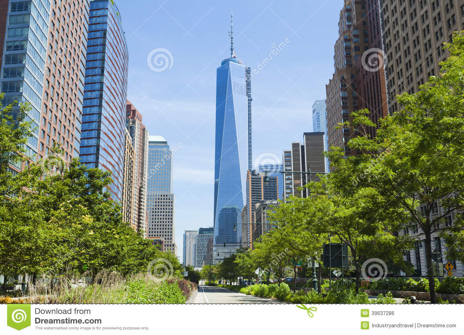 Rua ocidental e World Trade Center, New York