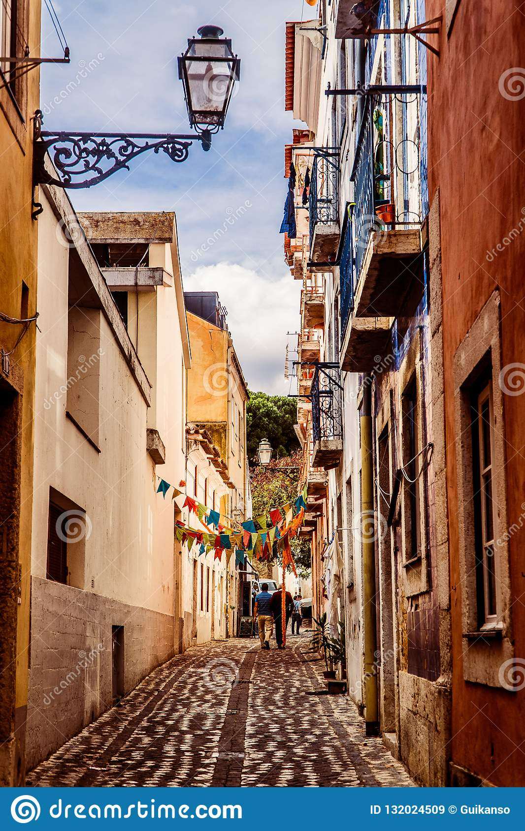 Ruas de Lisboa, Portugal
