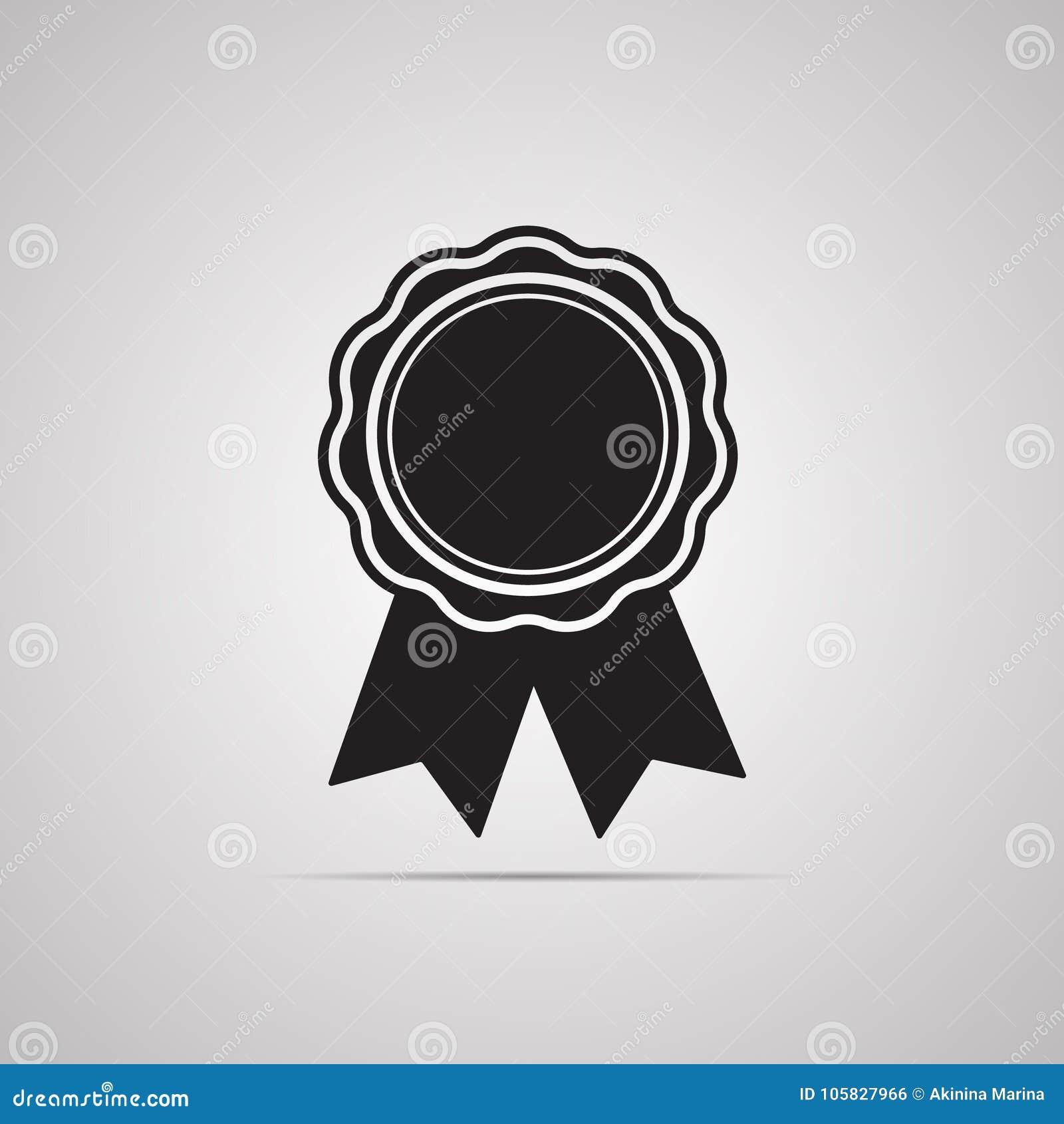 Ruban de la meilleure qualité de médaille avec des extrémités pour l illustration