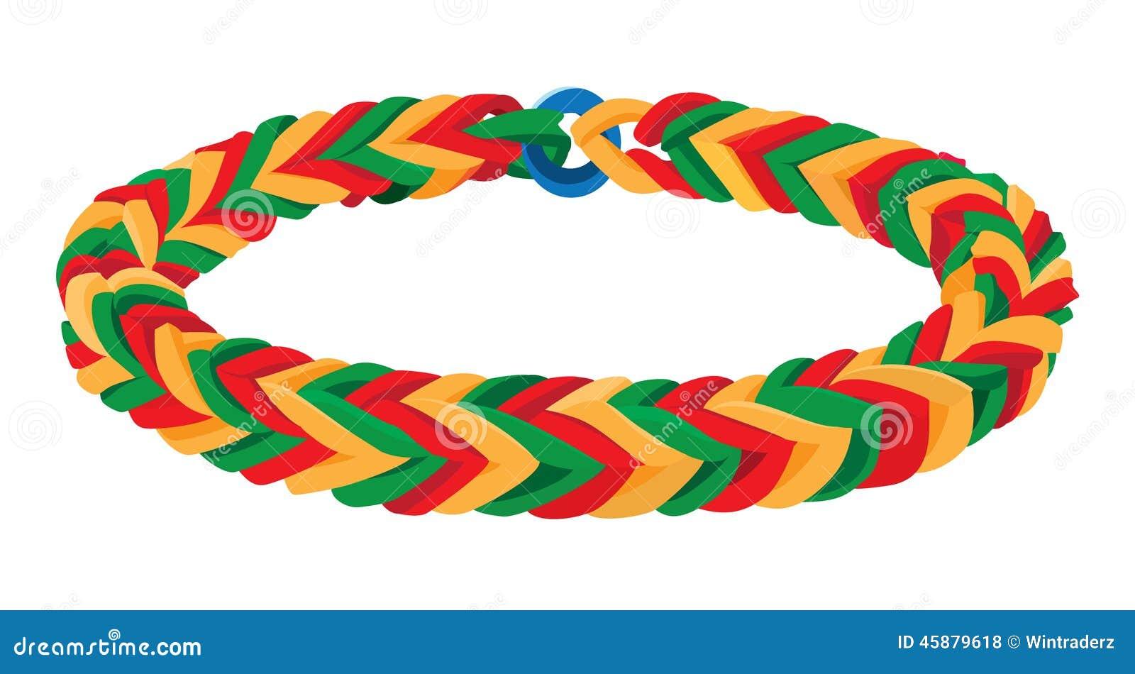 Band Bracelet Rubber