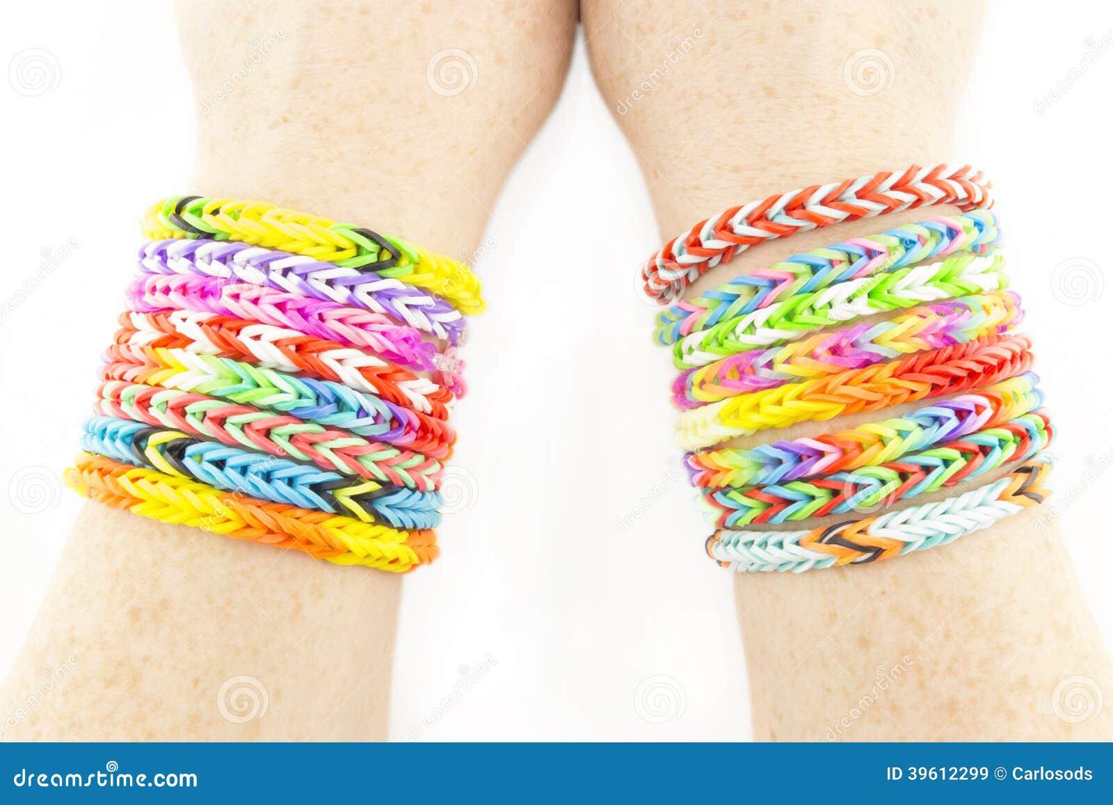 Bands Bracelets Rubber
