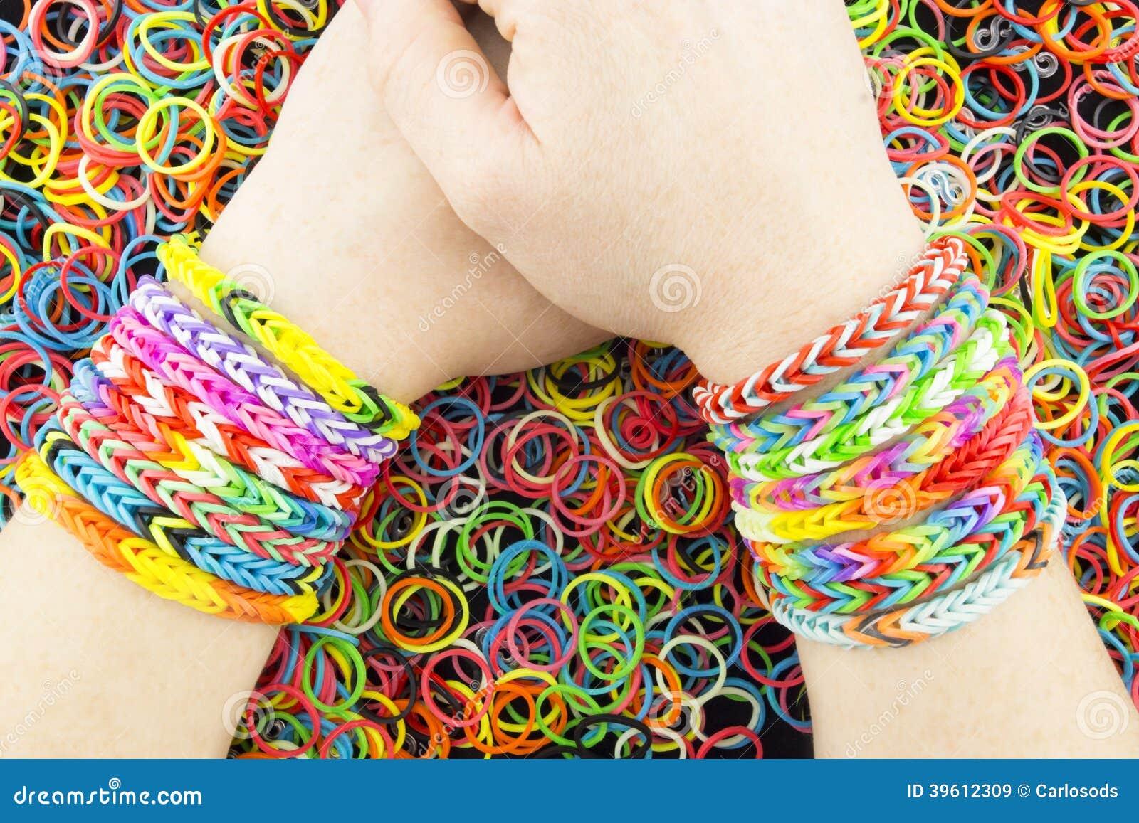 Rubber Bands Bracelets
