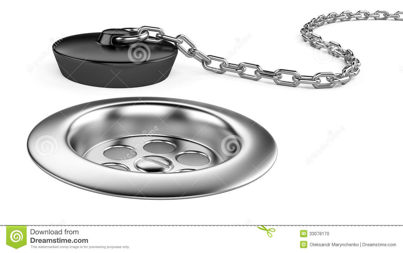 Rubber Bath Plug And Sink Stock Photo Image 33078170