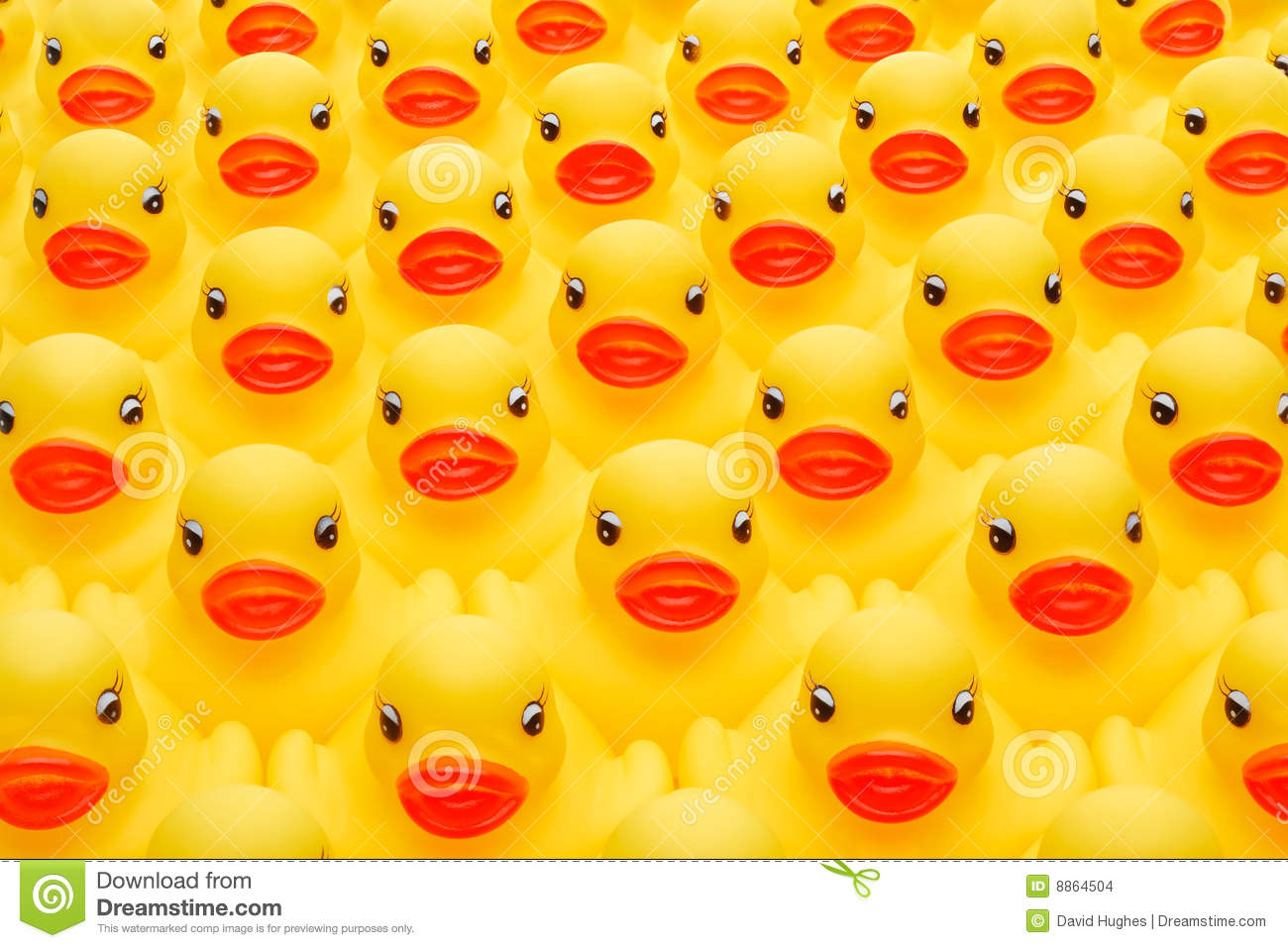Rubber Duck Army Stock Images Image 8864504