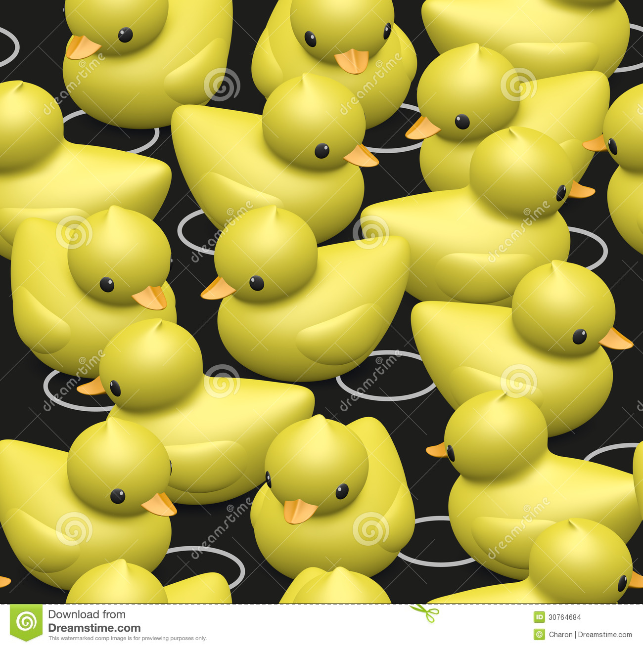 rubber duck family seamless pattern stock vector image 61142339