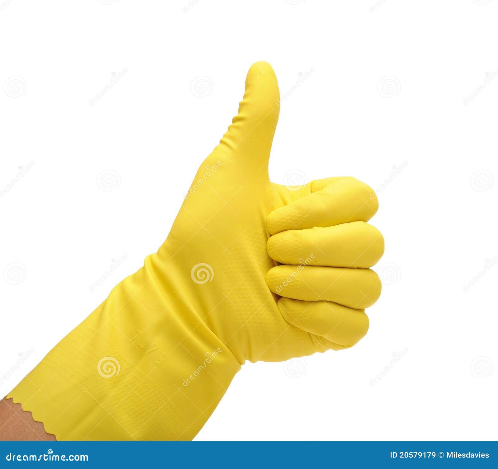 Член и резиновые перчатки 4 фотография