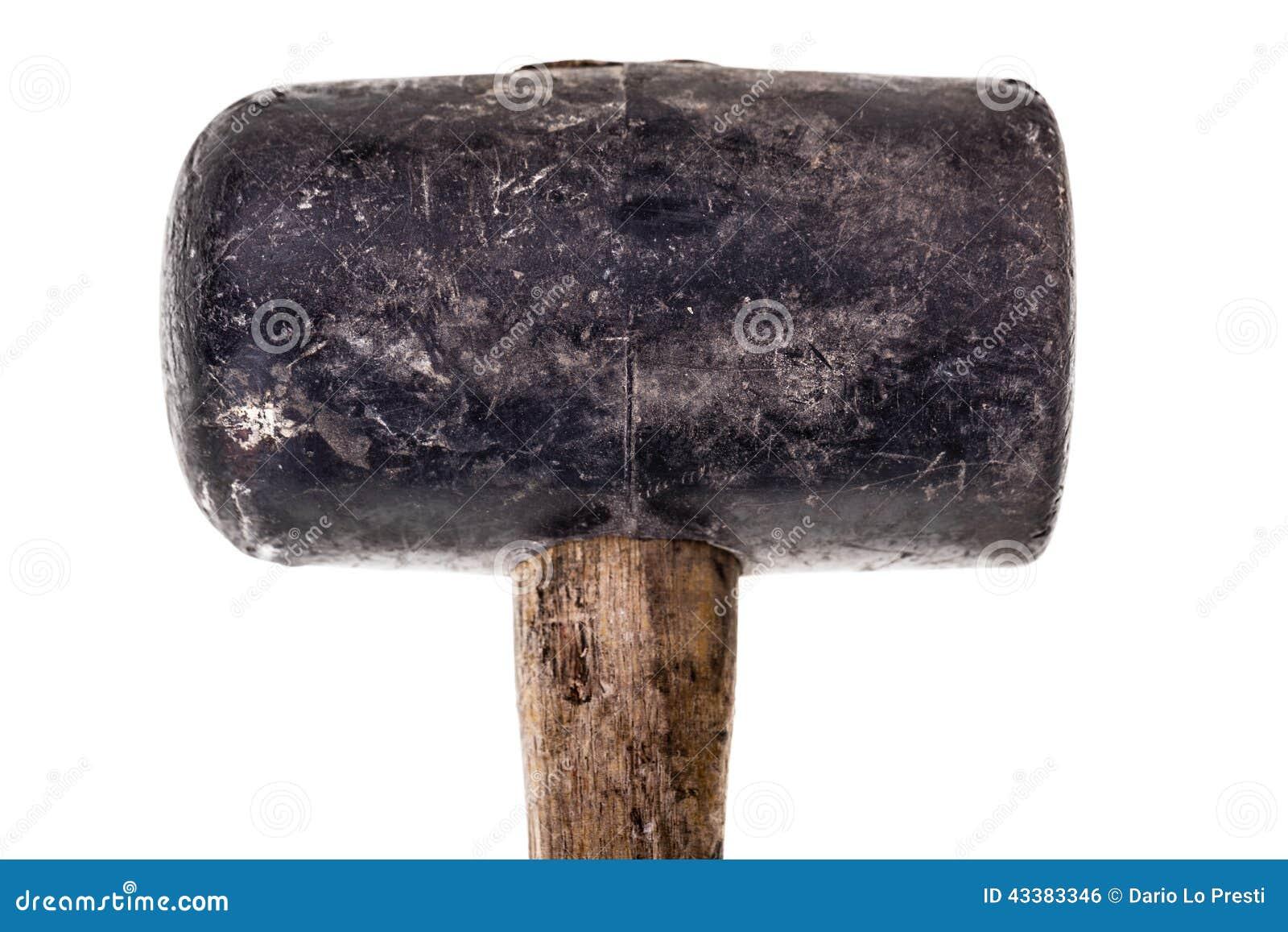 Rubber mallet head