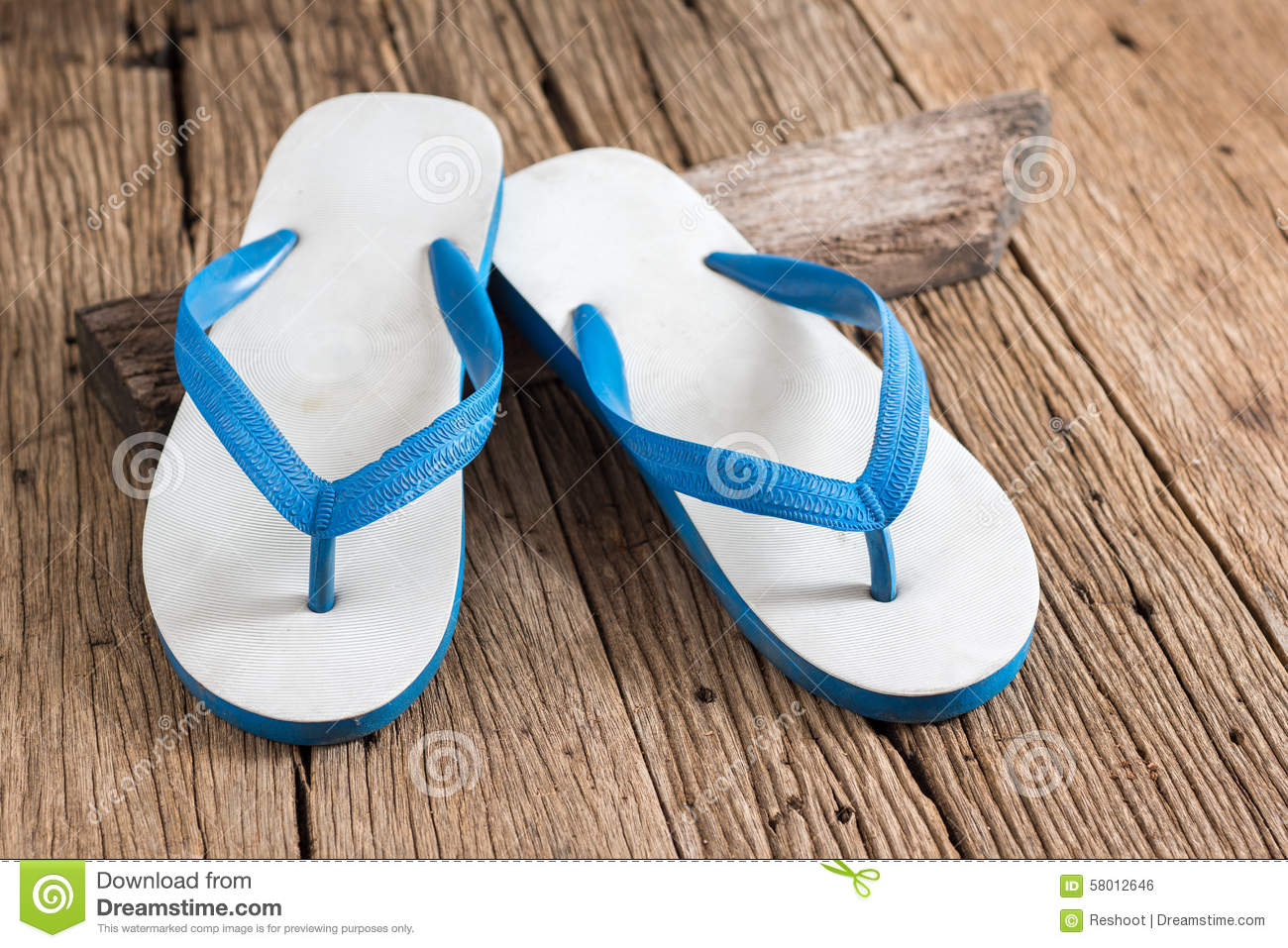 Rubber slippers stock photo. Image of