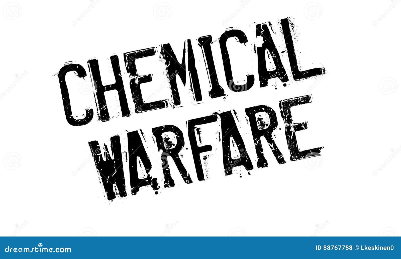 Usa for ett kemiskt krig