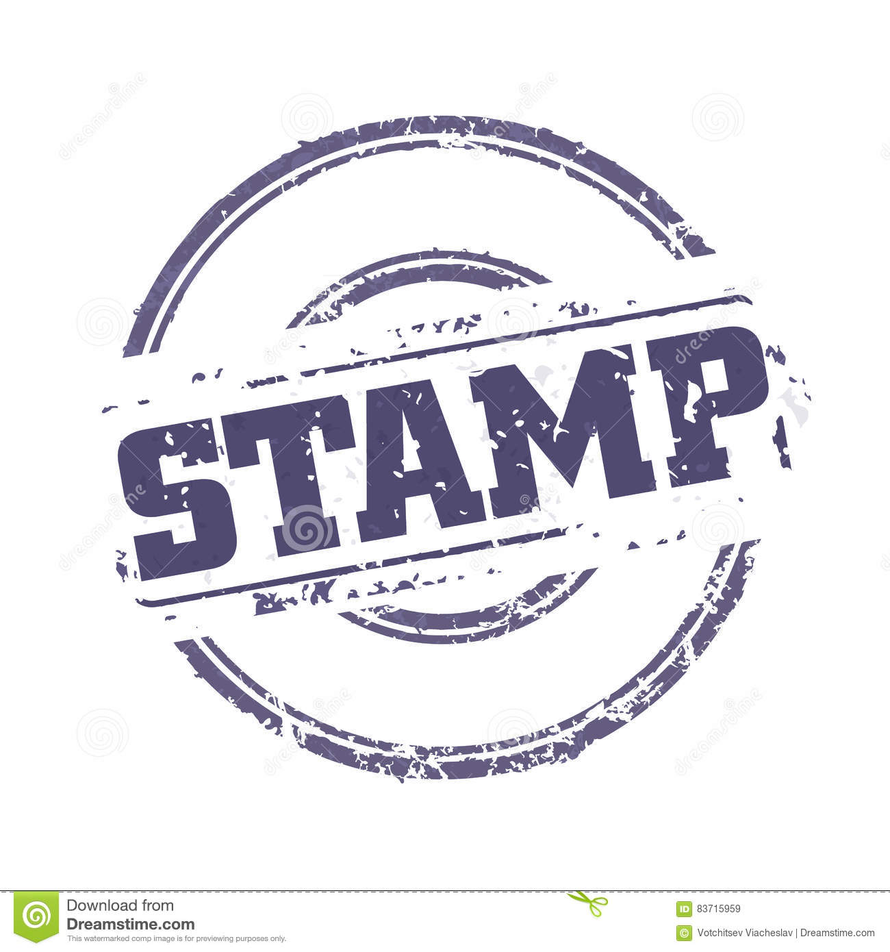 Royalty Free Vector. Download Rubber Stamp Template ...