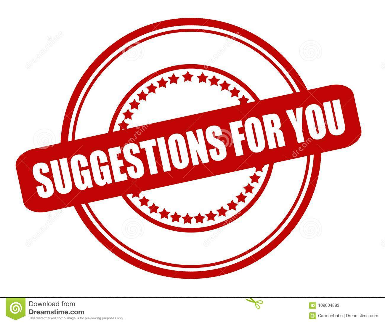Suggestions for you