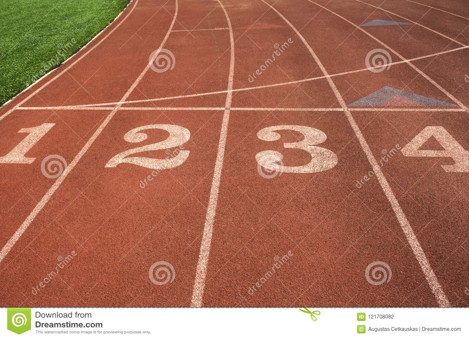 Rubber standard of athletics stadium running track