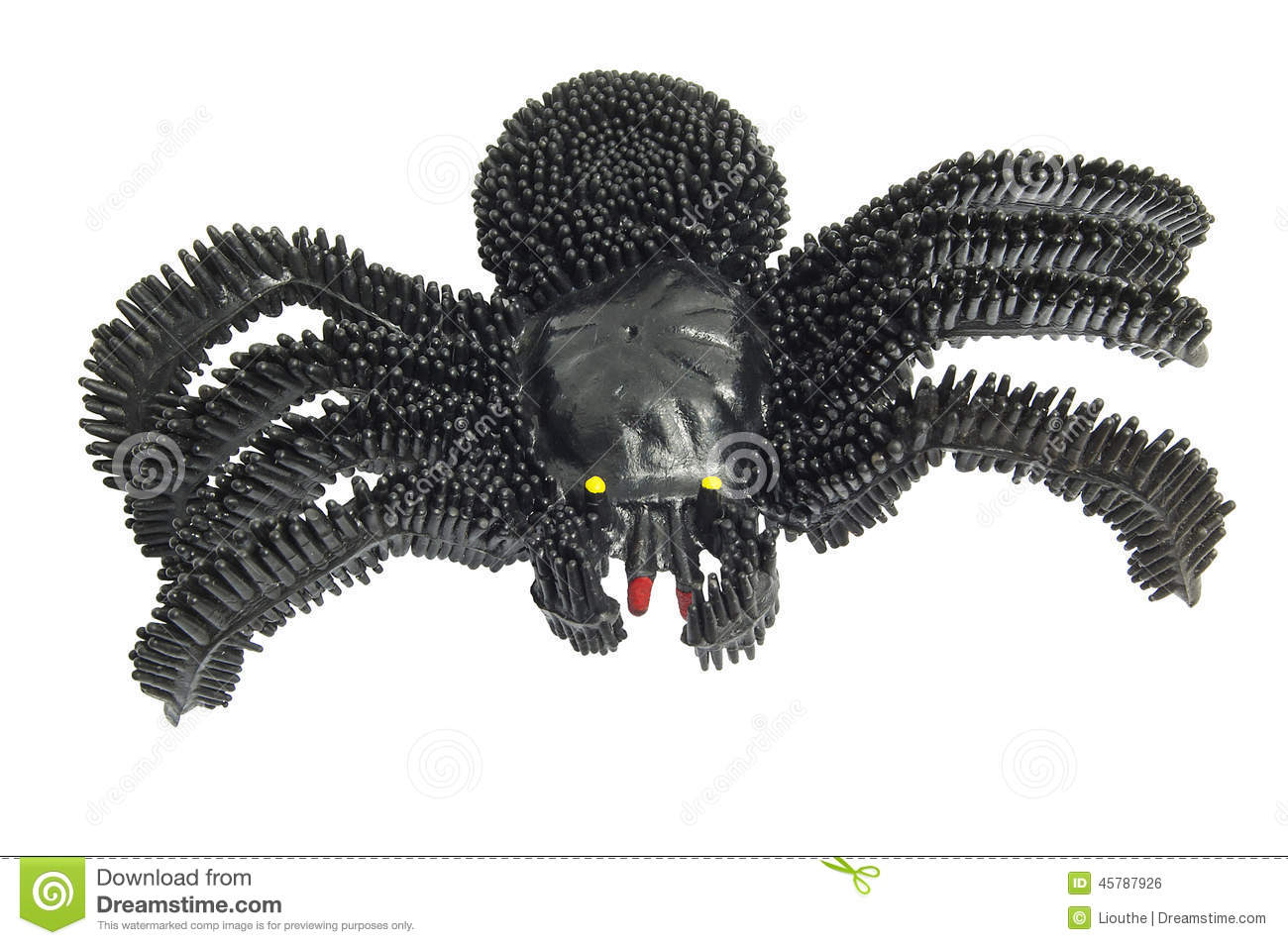 Rubber Toy Spider Stock Photo Image 45787926