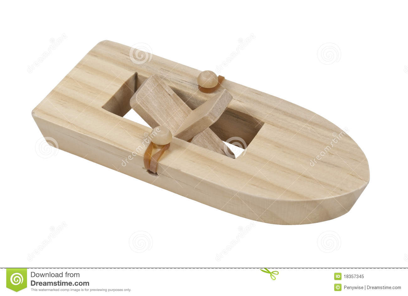 Rubberband Powered Boat stock image. Image of sport, hobby - 18357345