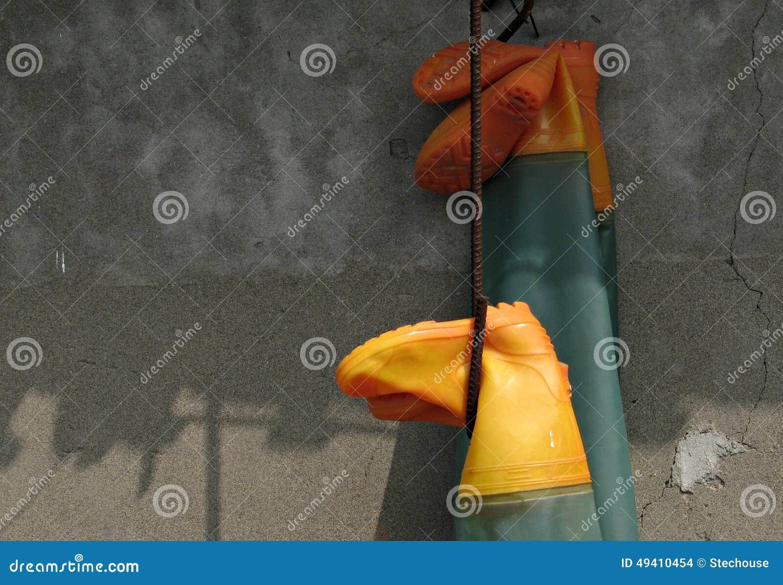 Download Rubbet-Stiefel in Taiwan stockfoto. Bild von gummi, matten - 49410454
