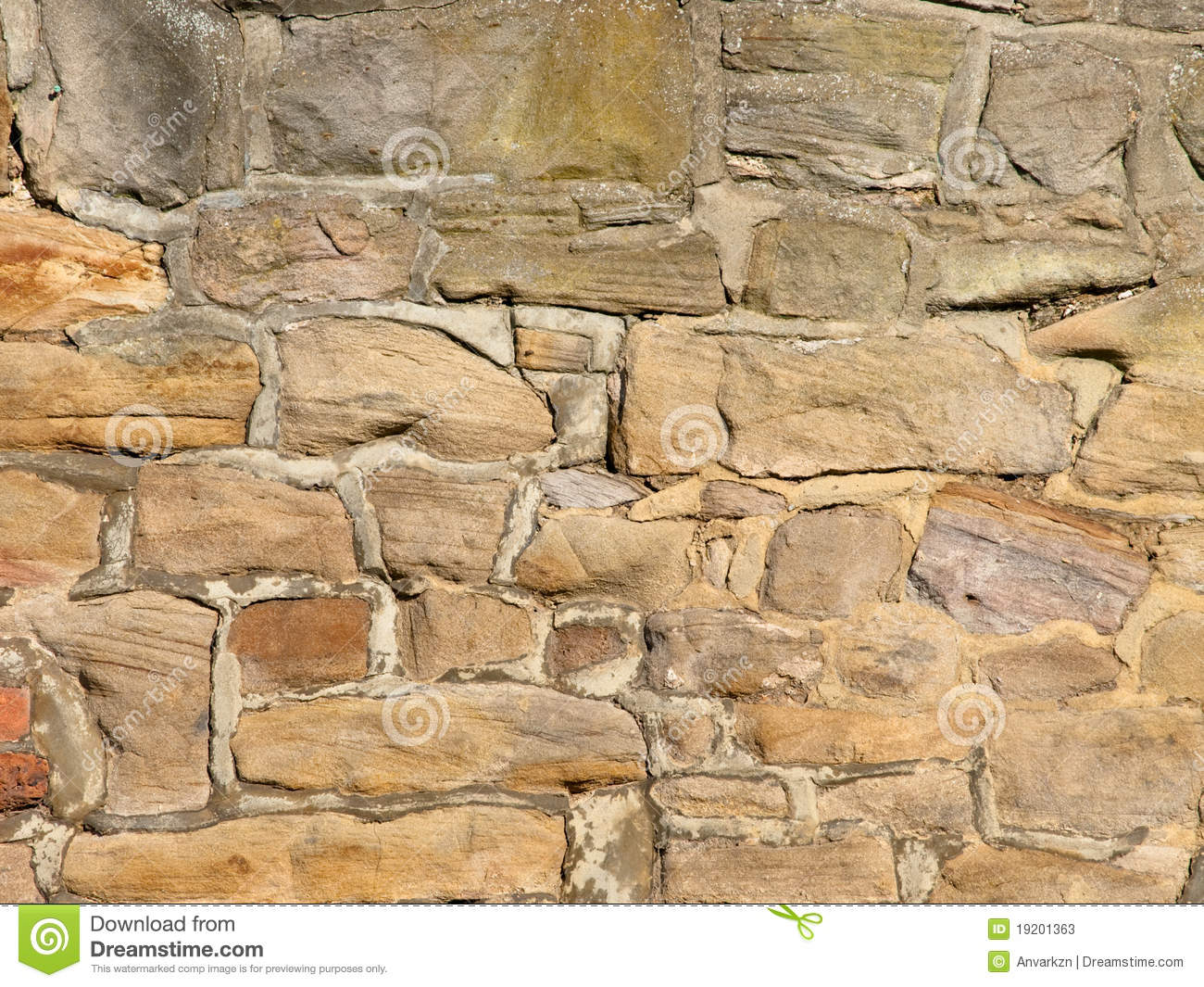 Rubble Stone Wall : Rubble stone wall background stock image
