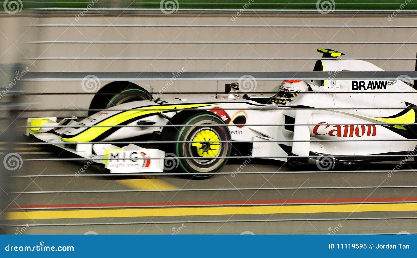 Rubens Barrichello que qualifica em Singapore F1 2009