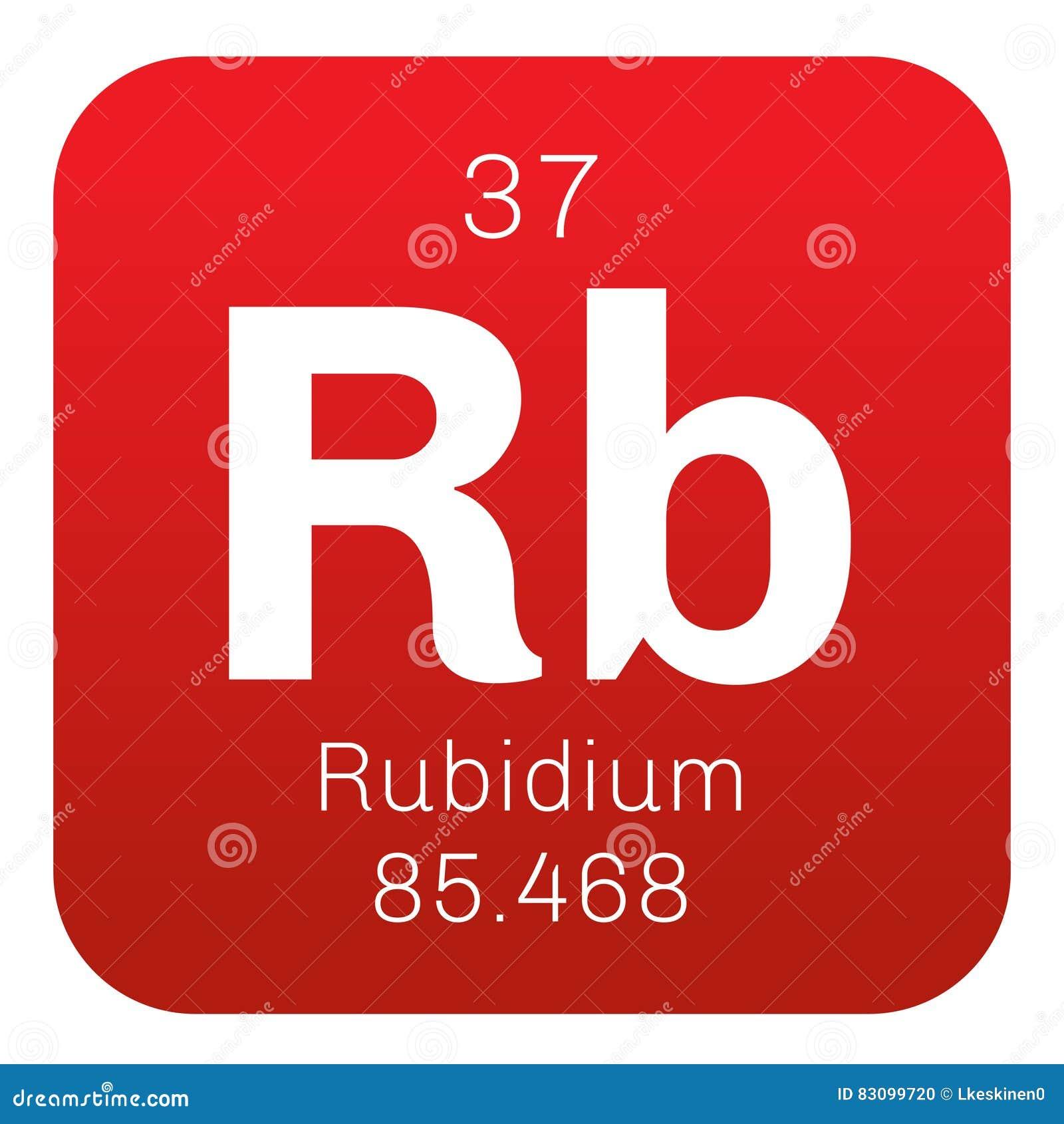 Rubidium chemisch element