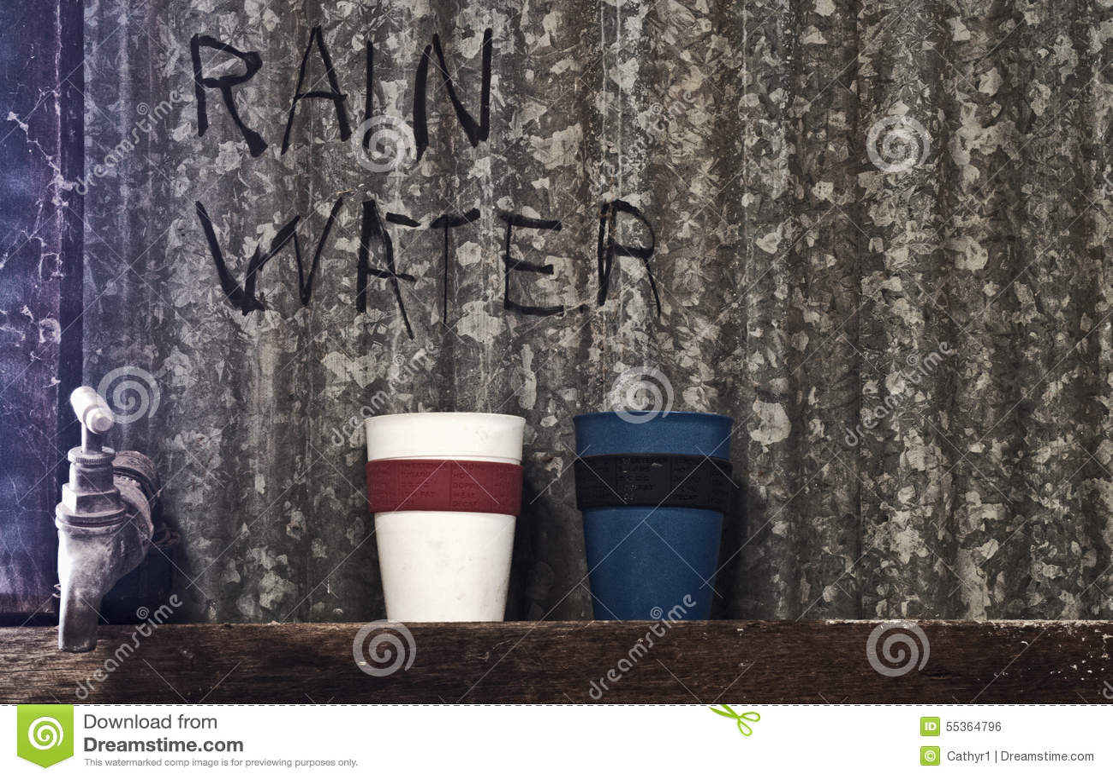 Rubinetto dell acqua piovana