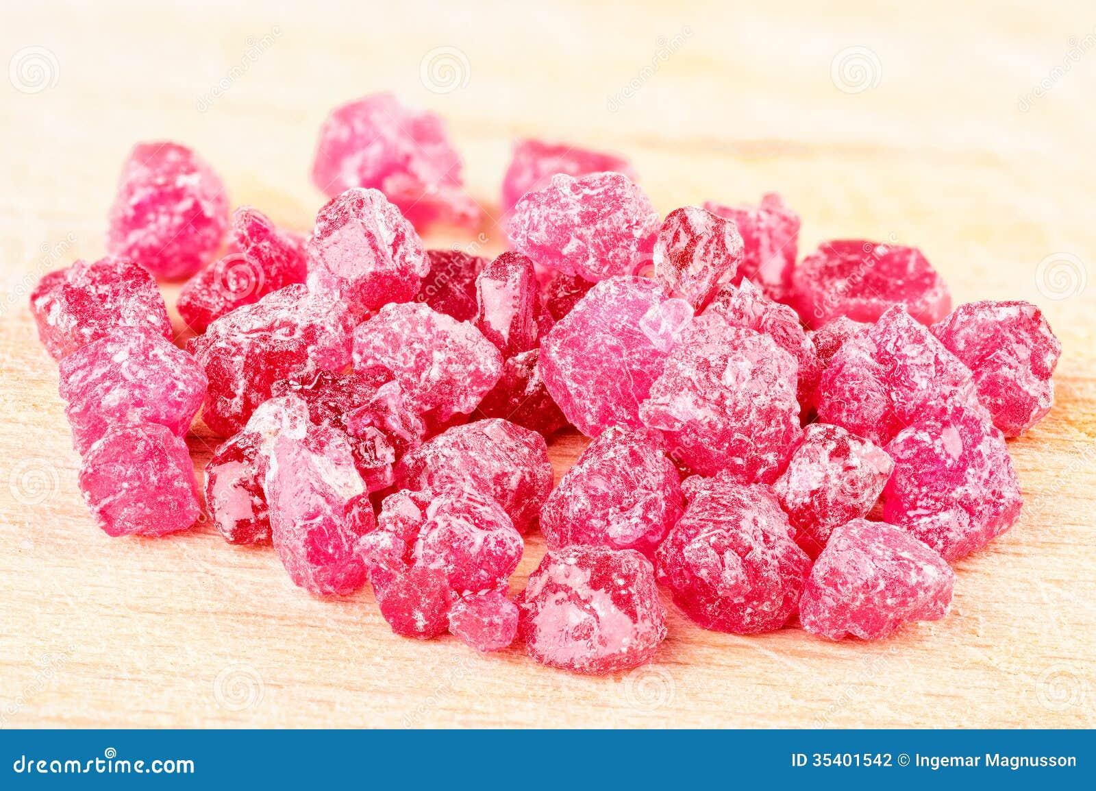 Ruby Crystals Stock Photo Image Of Corundum Ruby