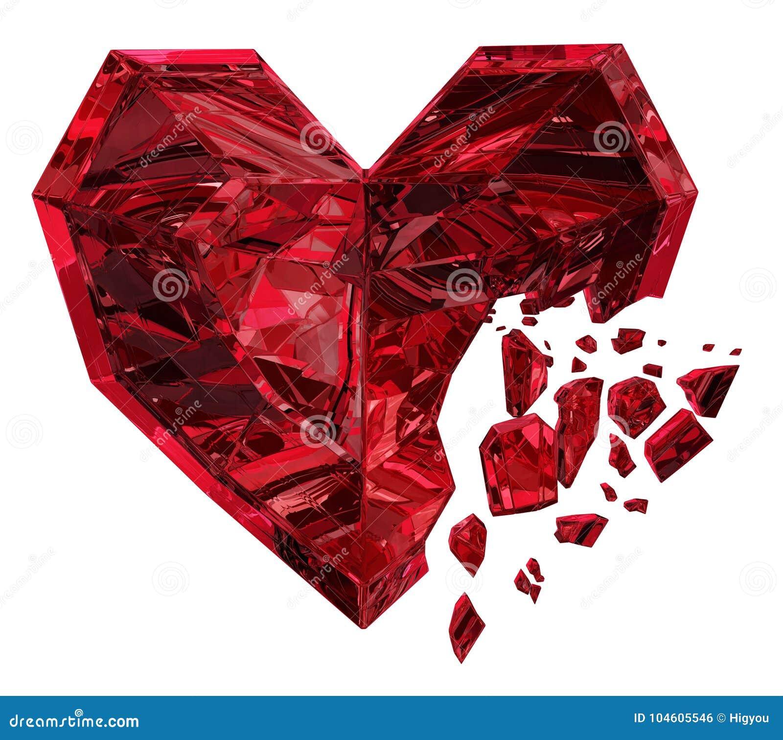Ruby Heart Break
