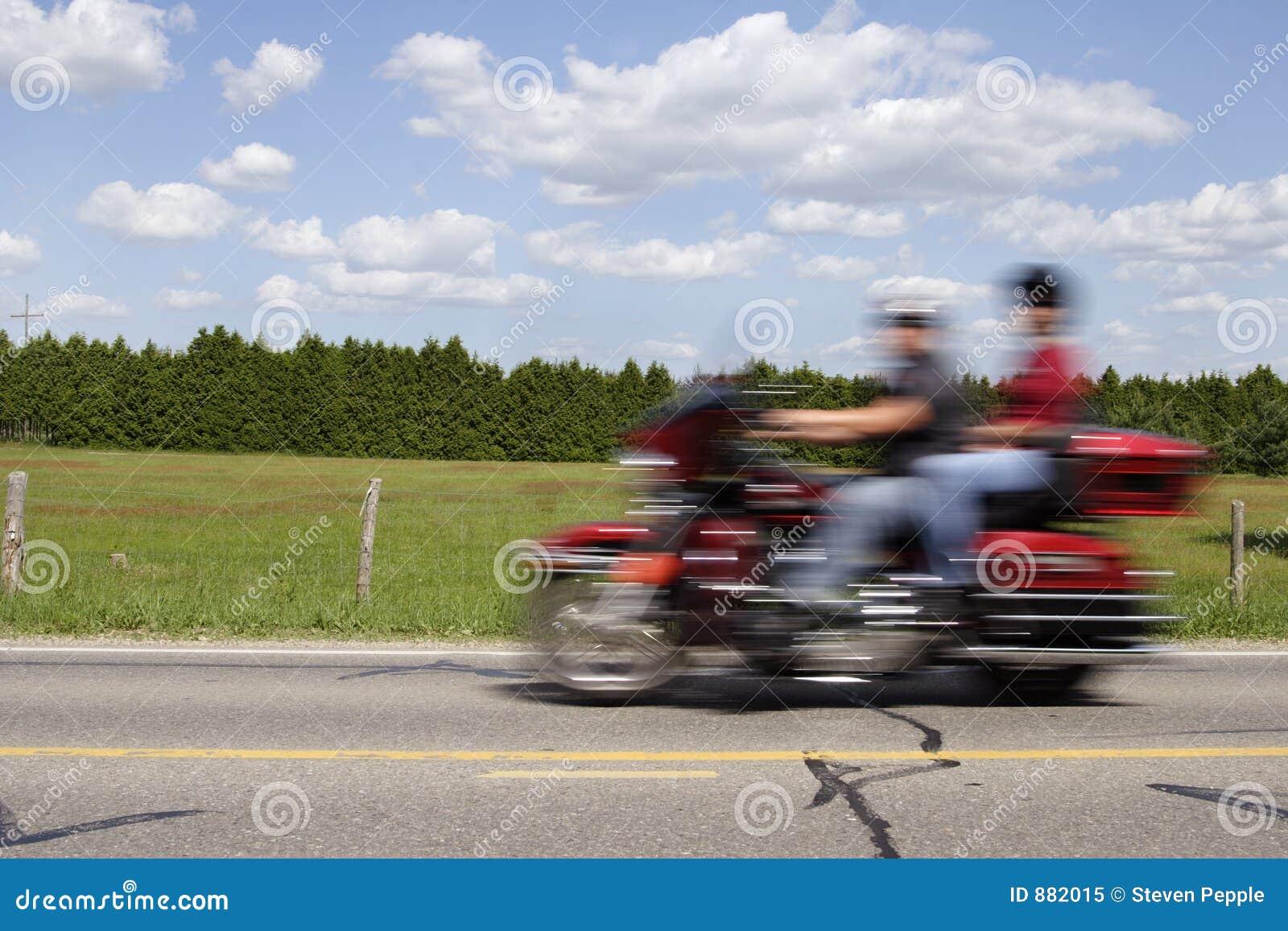 Ruch motocykla