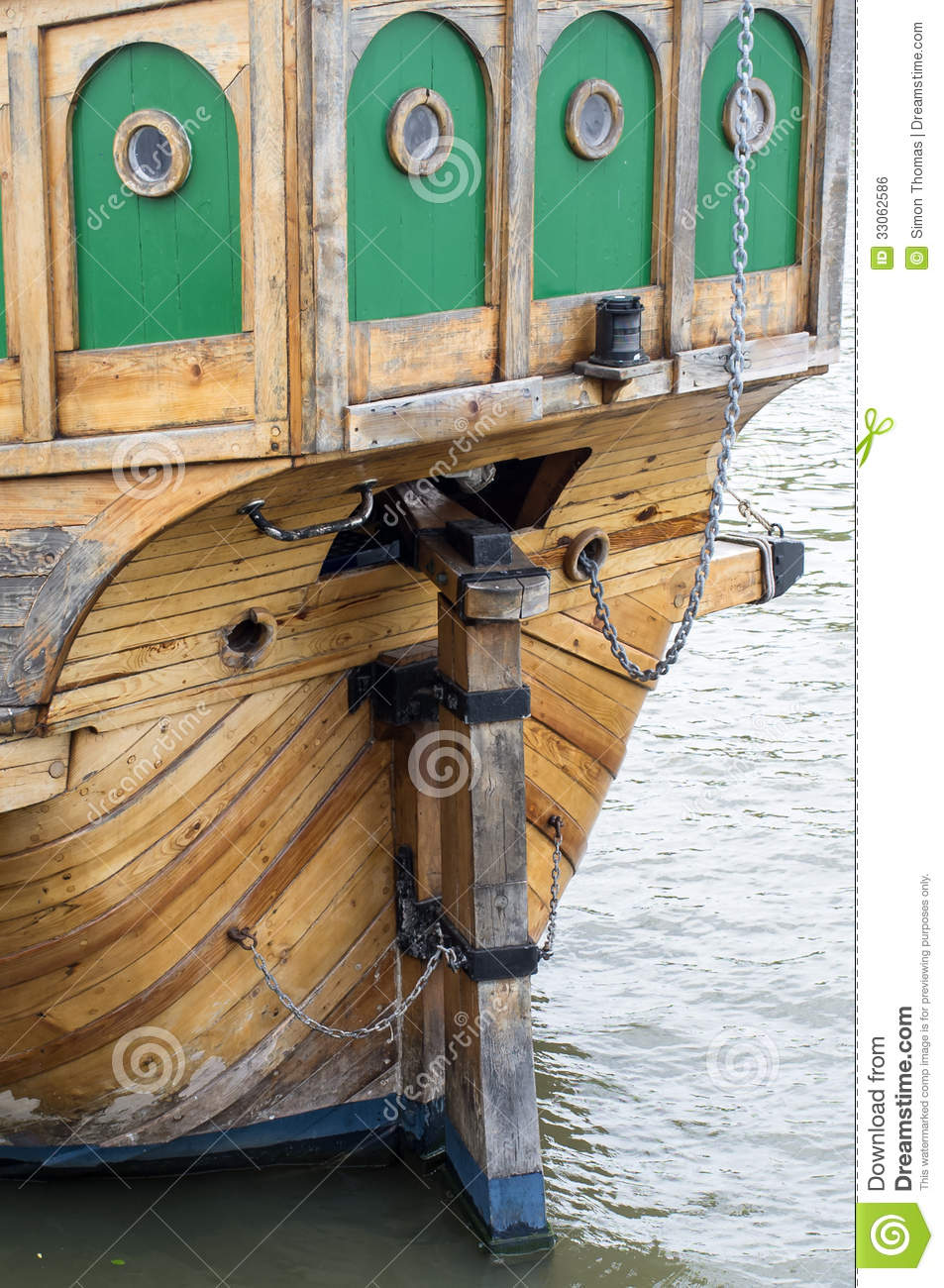 Rudder Royalty Free Stock Image Image 33062586
