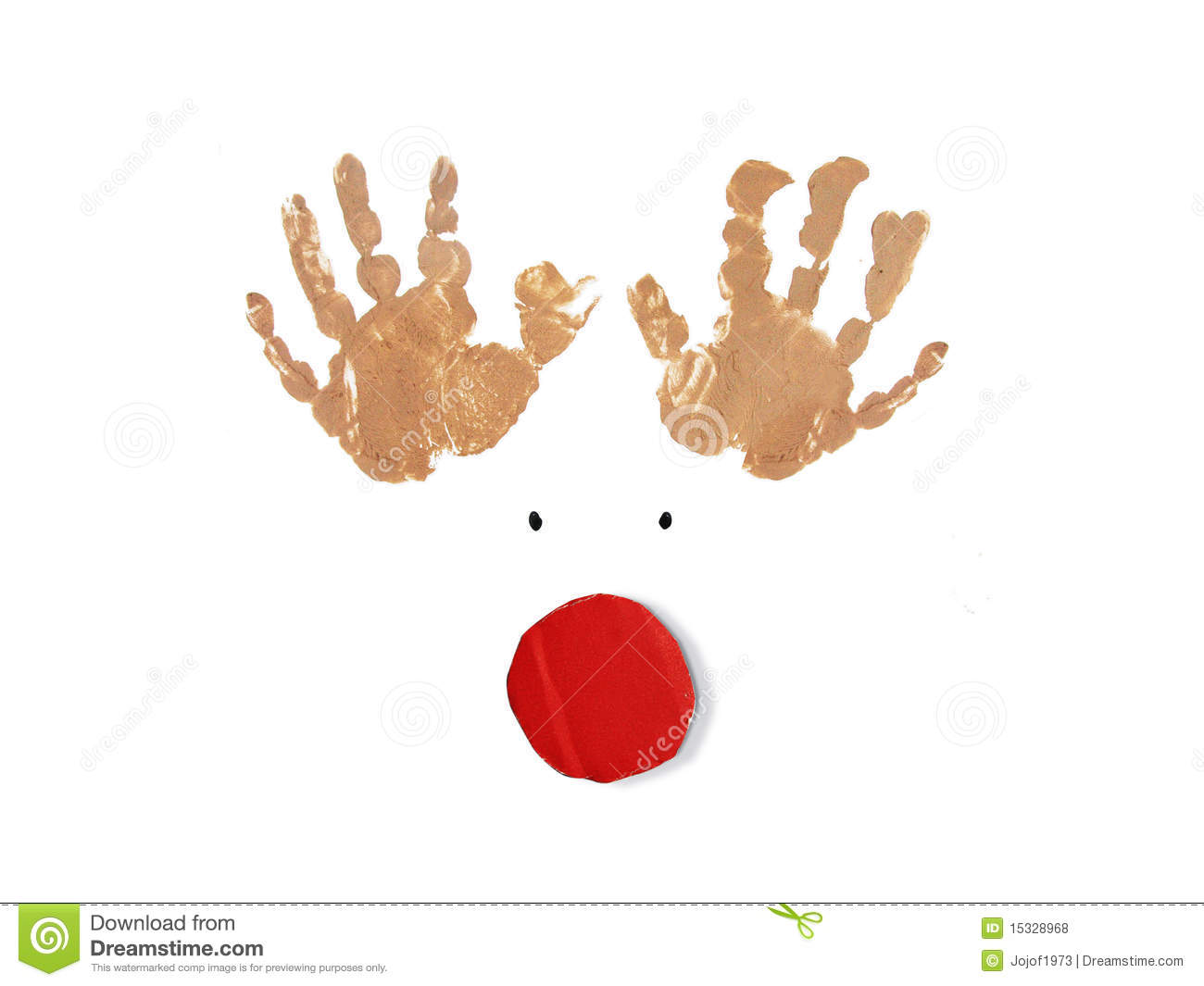 rudolph the red nose reindeer christmas card - Christmas Card Print Out