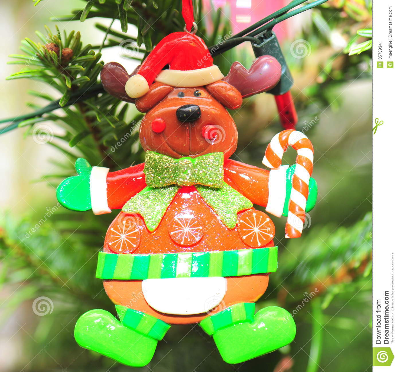 rudolph the reindeer christmas tree decoration