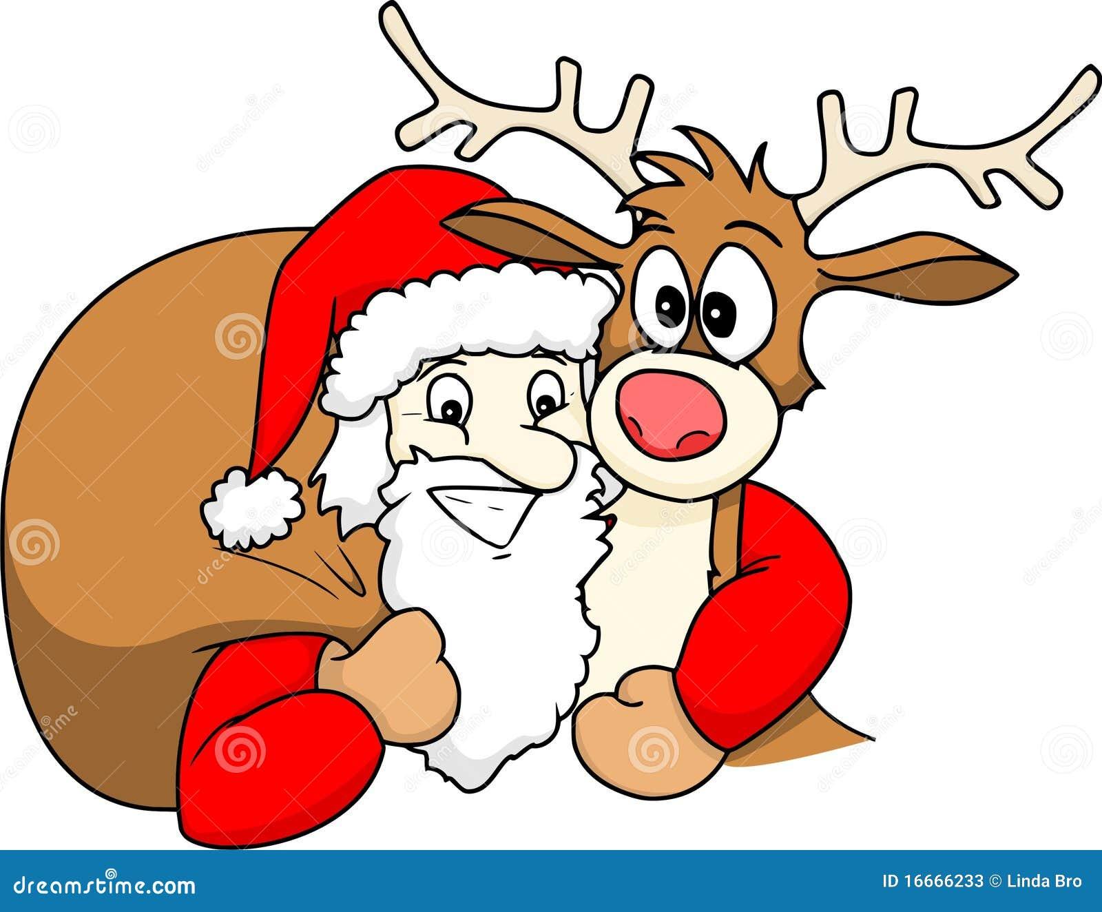 Санта и олень порно 11 фотография