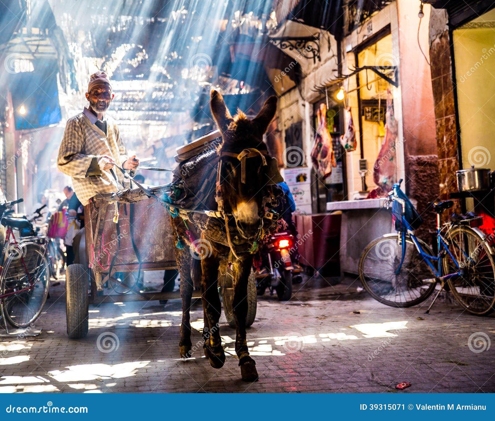 Rue à Marrakech