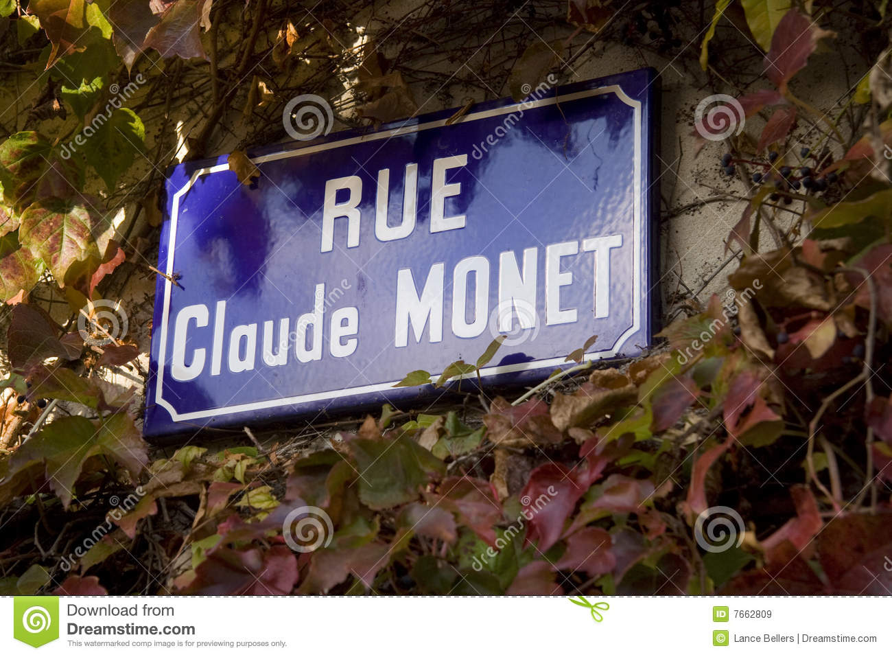 Rue Claude Monet