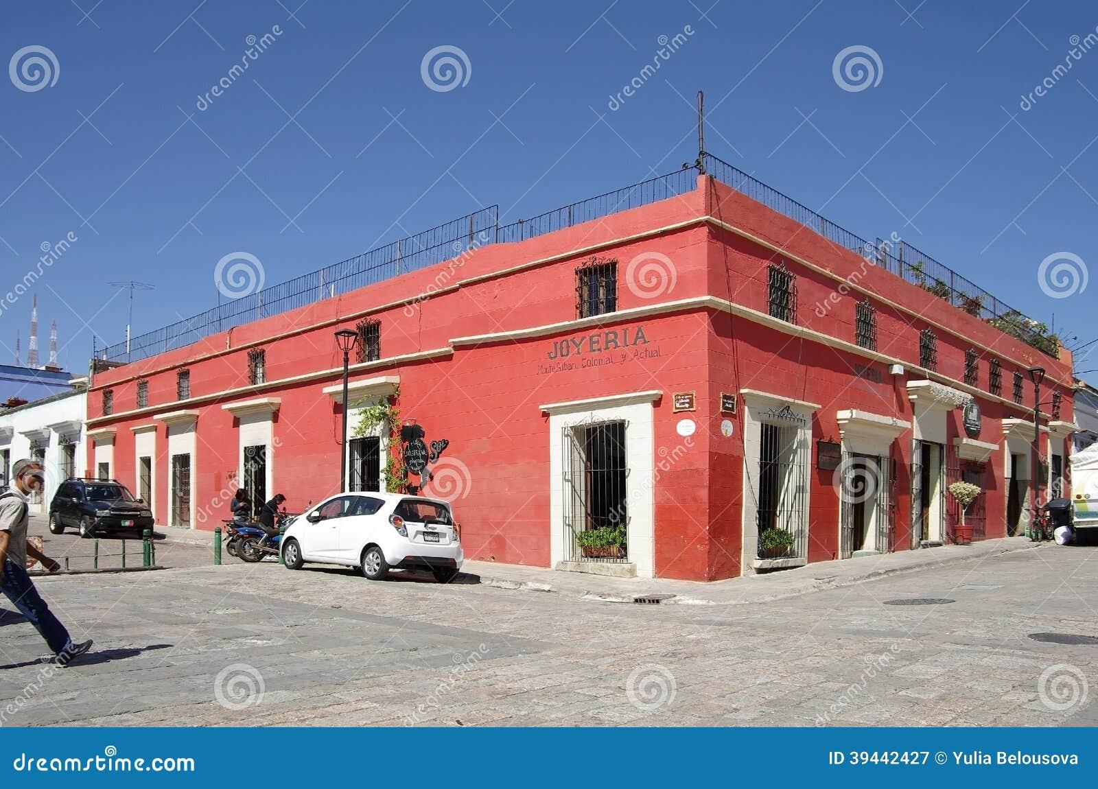 Rue d Oaxaca