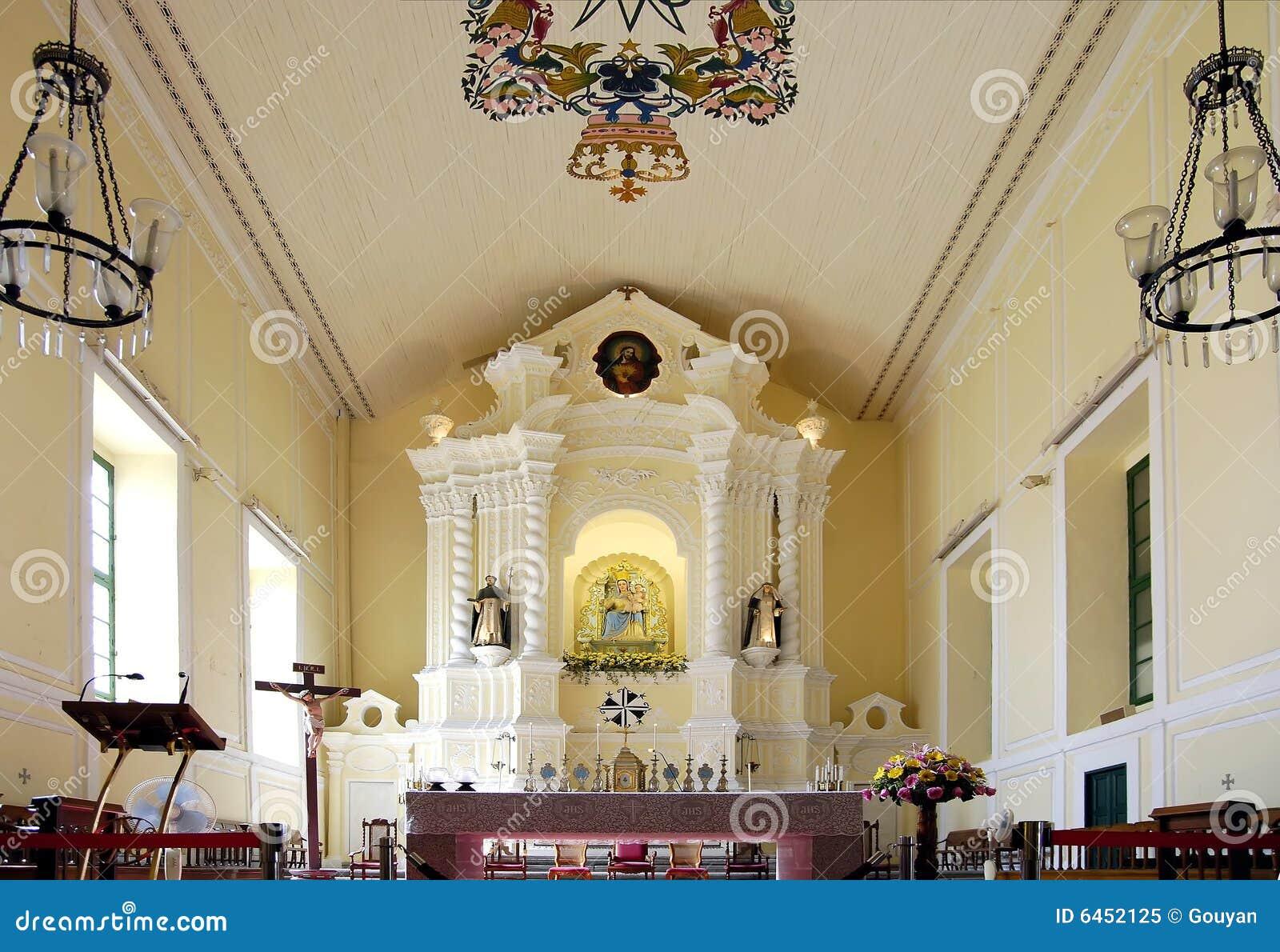 Rue de Dominic macau s d église