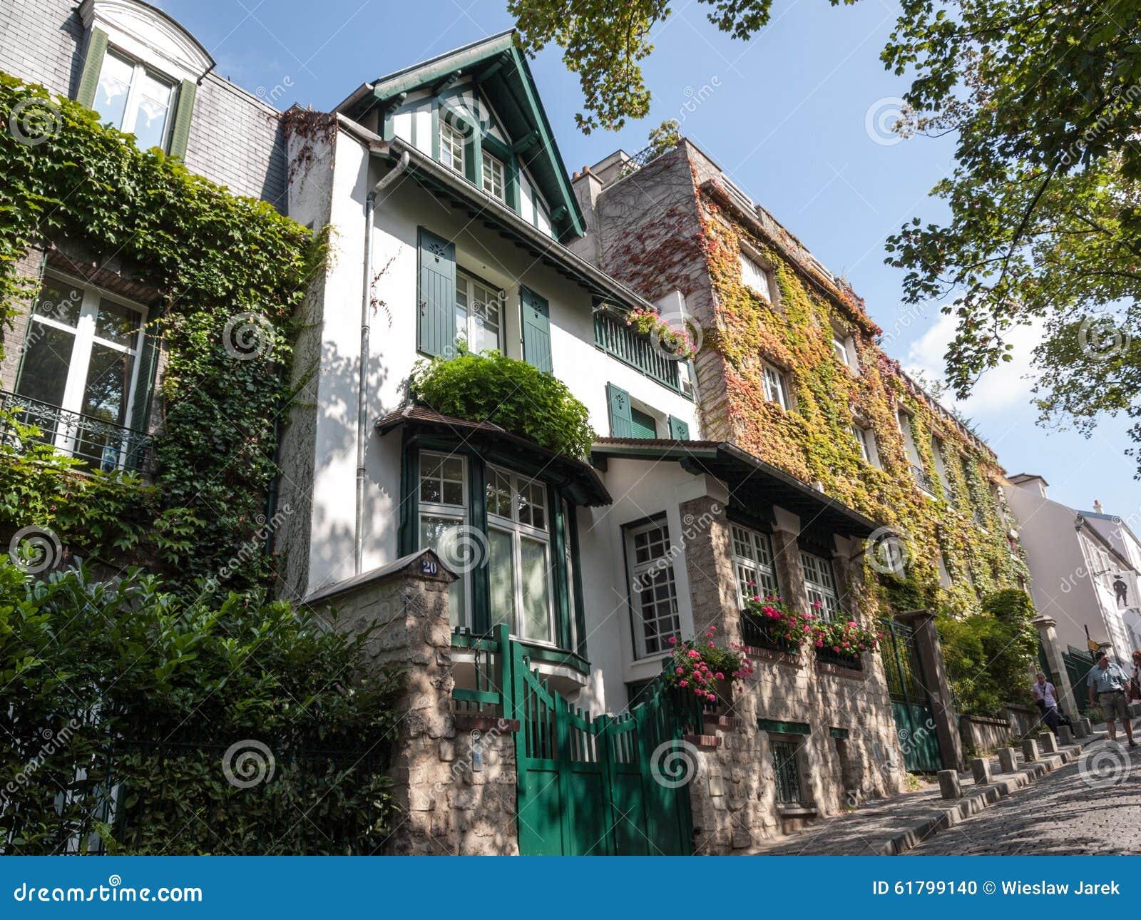 Rue de l Abreuvoir, Montmarte, Paris
