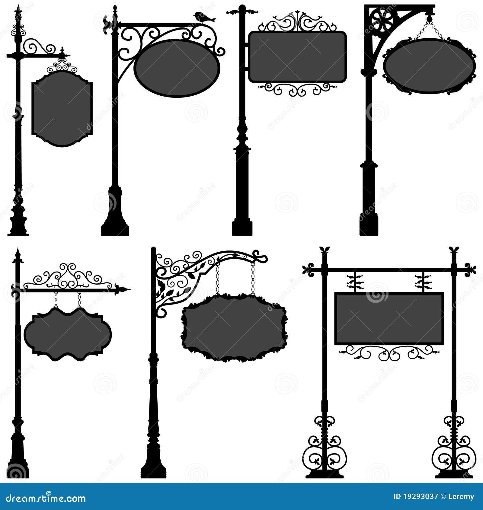 Rue de trame de Pôle de signe de Signage