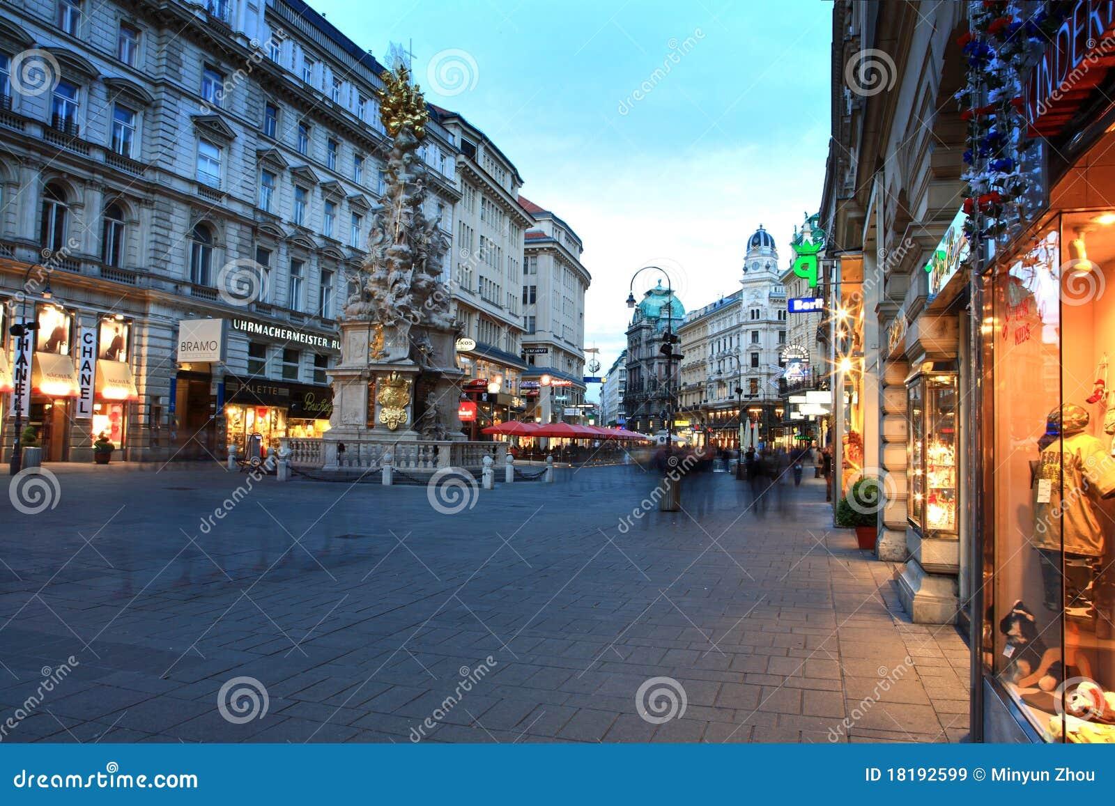 Rue de vienne autriche image stock ditorial image - Office de tourisme de vienne autriche ...