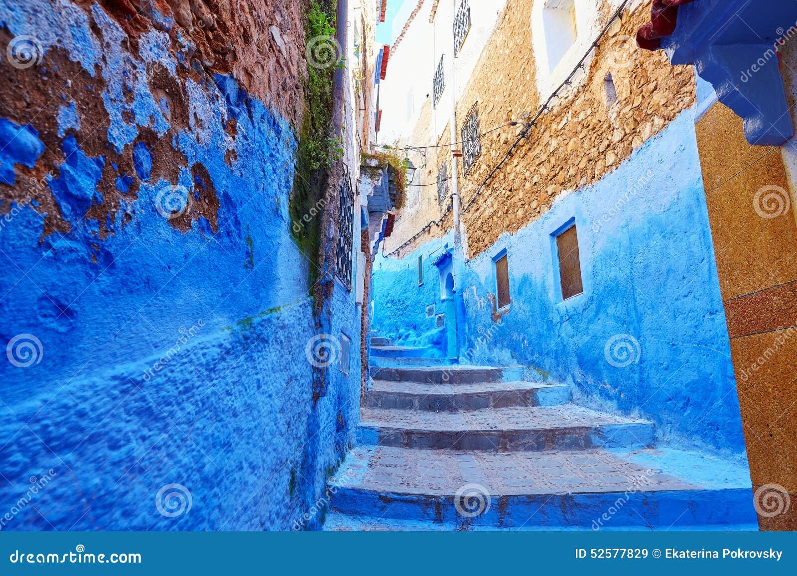 Rue en Médina de Chefchaouen, Maroc