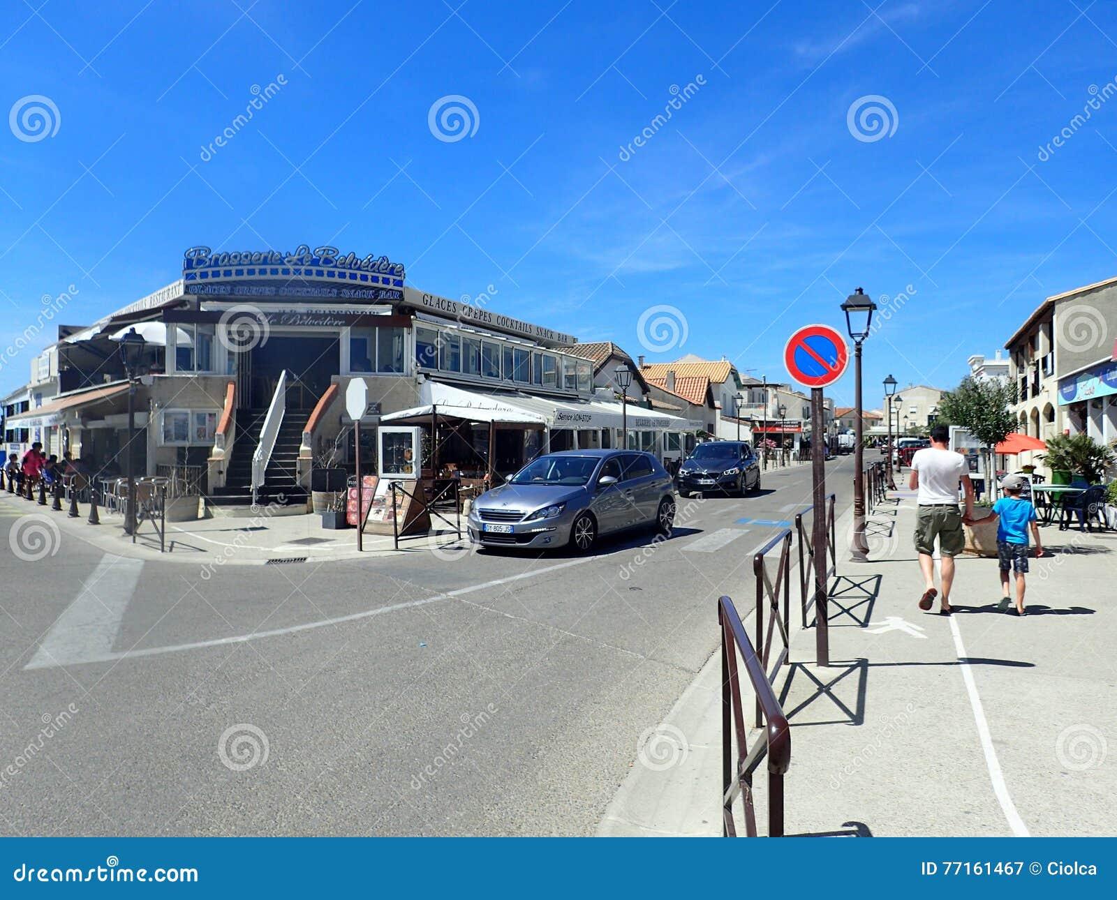 Rue Léon Gambetta, Saintes-Maries-de-la-Mer, France