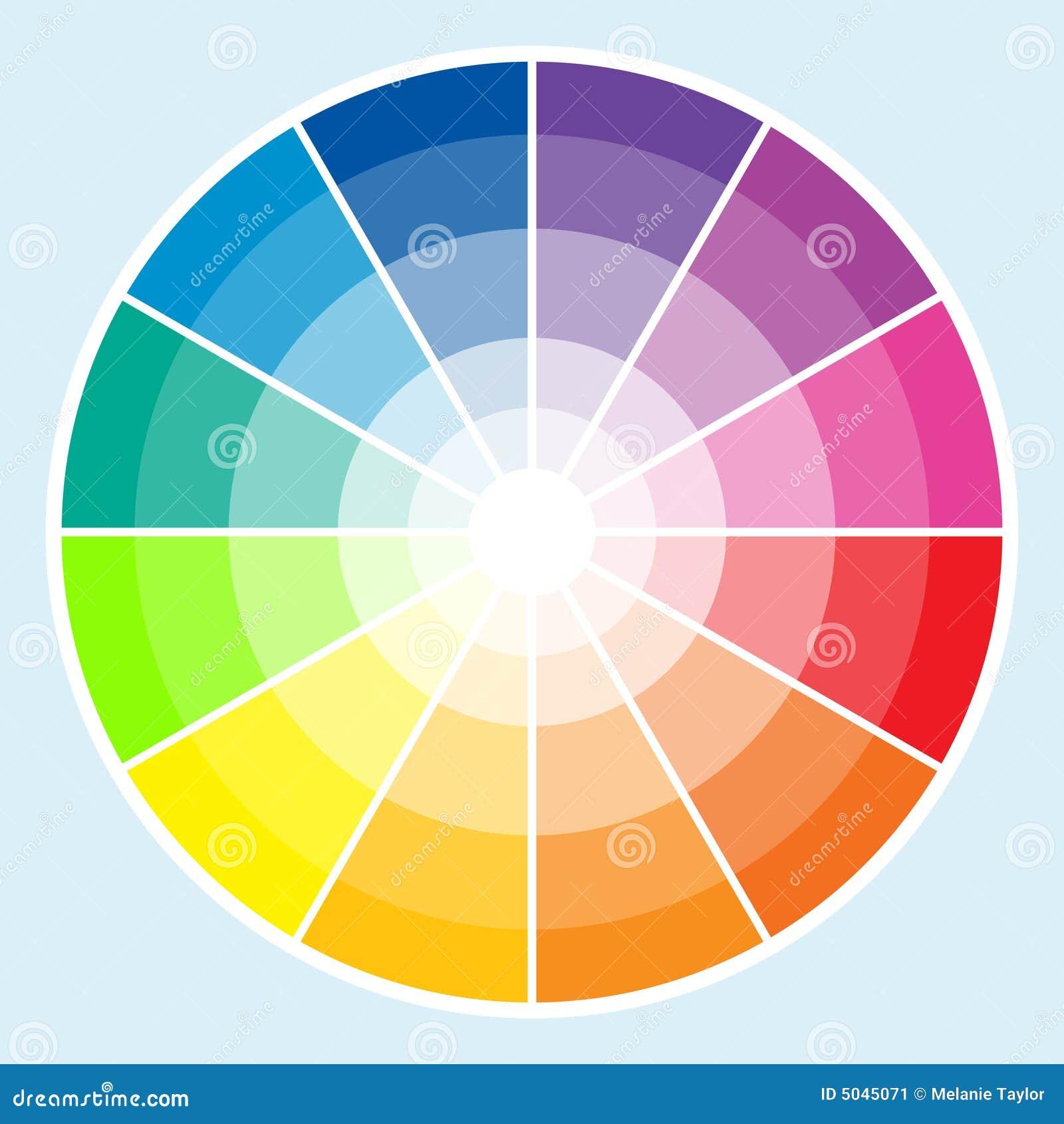 Rueda de color luz imagen de archivo imagen 5045071 - Rueda de colores ...