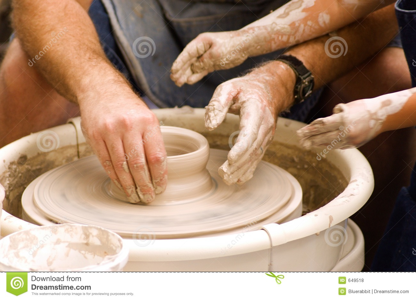 Rueda de la cerámica