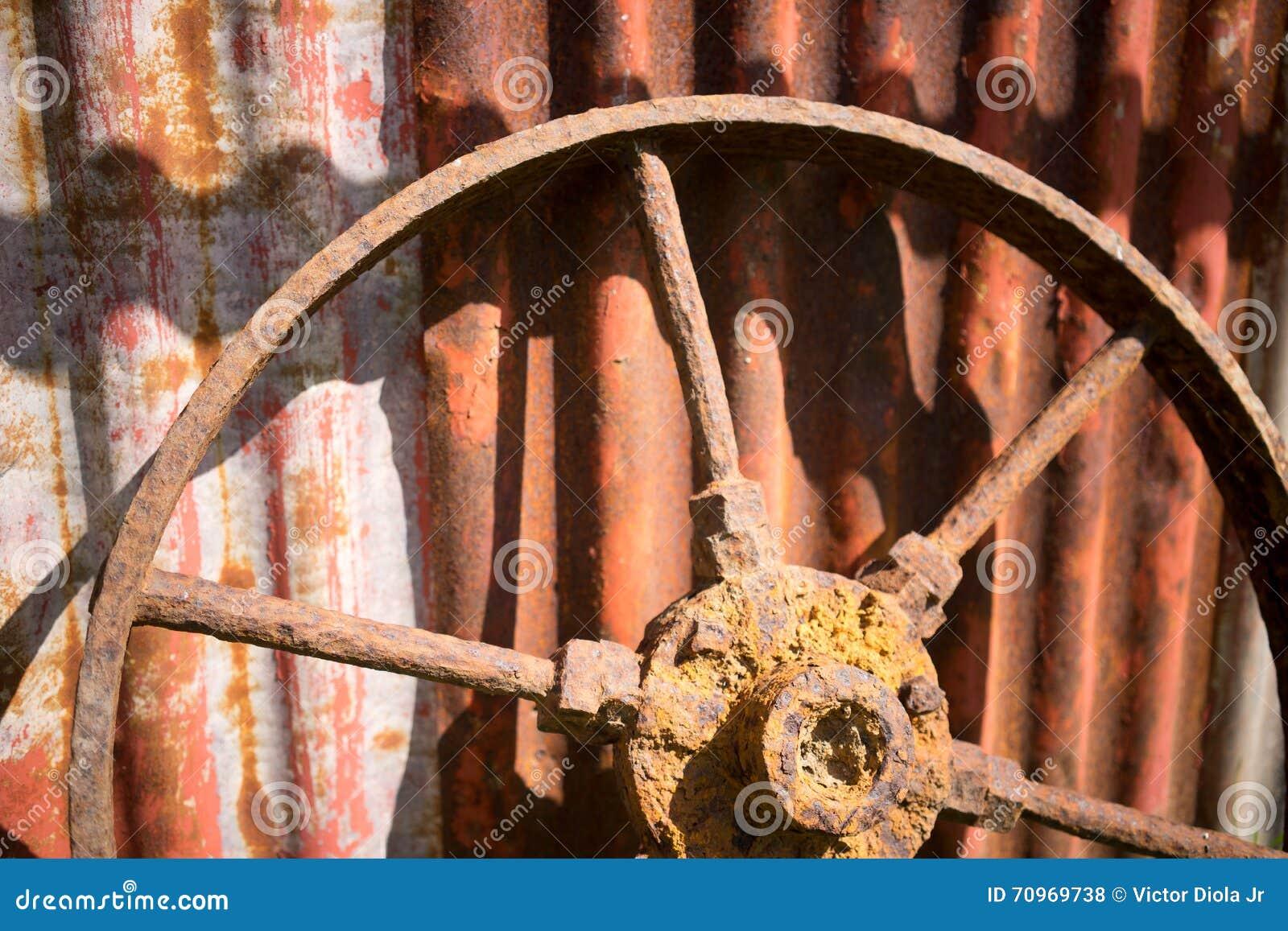 Rueda oxidada