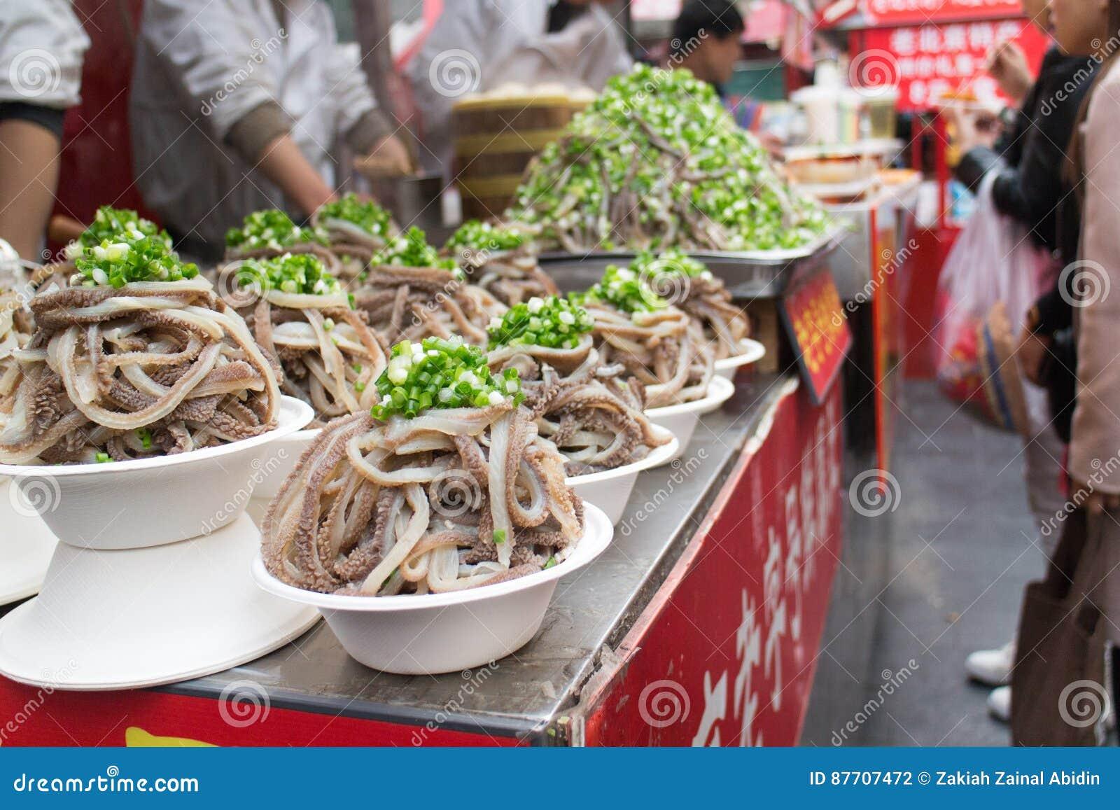 Rues de casse-croûte de Wanfujing