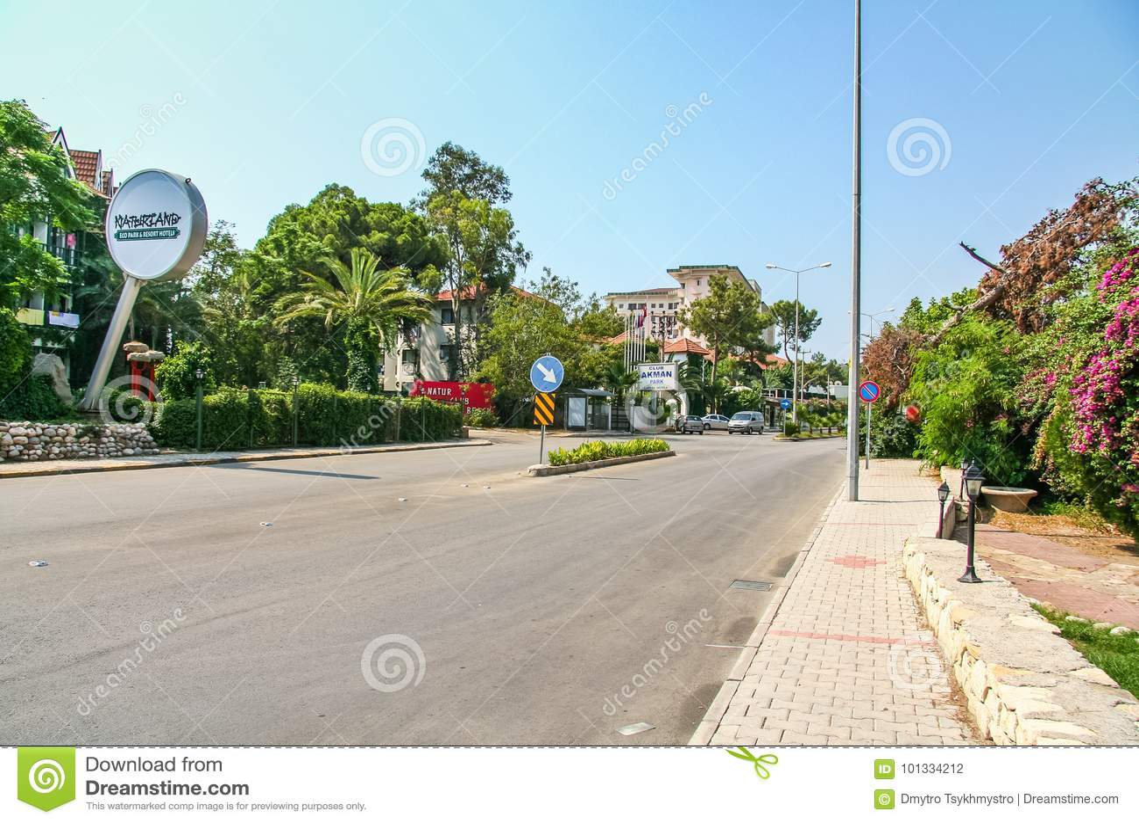 Rues de l hôtel dans le village de Camyuva