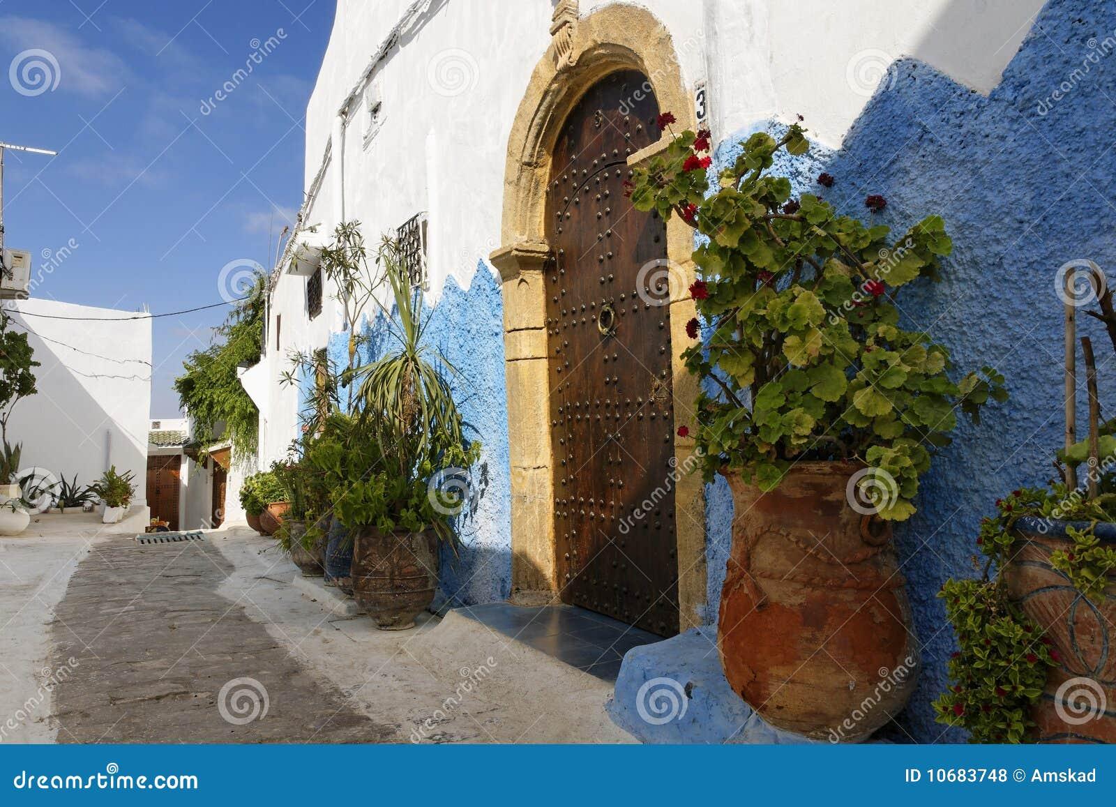 Rues du Kasbah Oudayas
