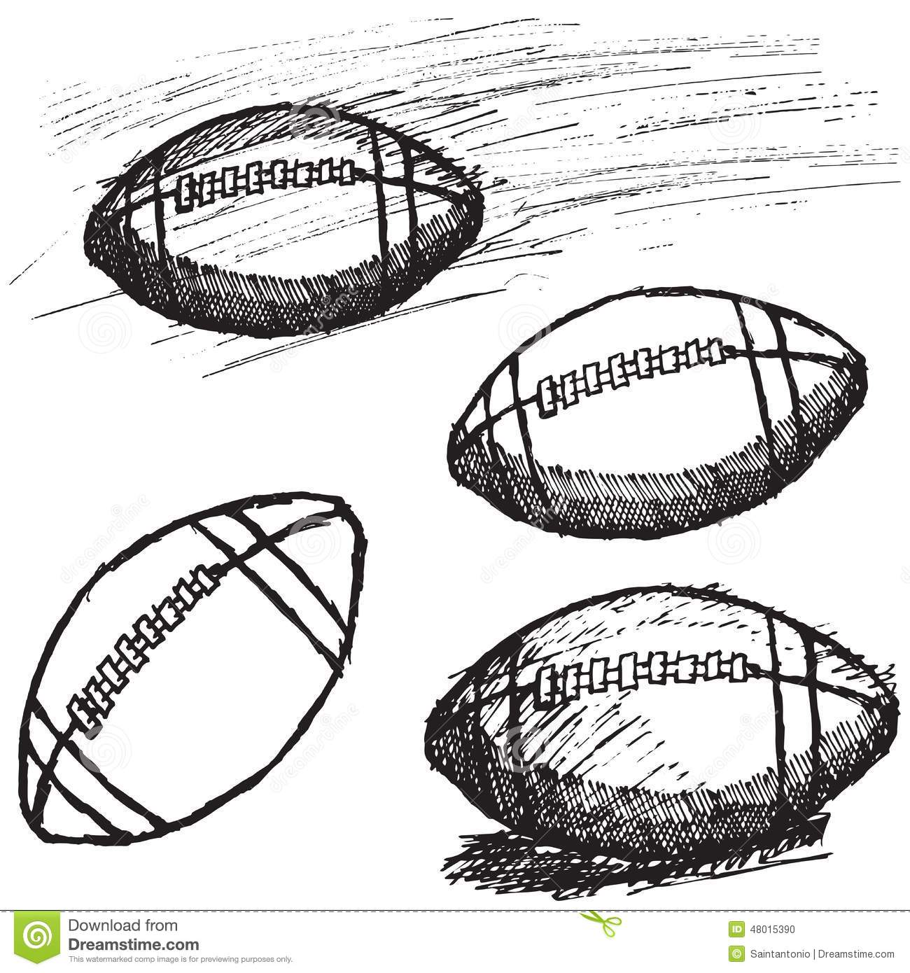 American Football Sketches | Www.pixshark.com - Images Galleries With A Bite!
