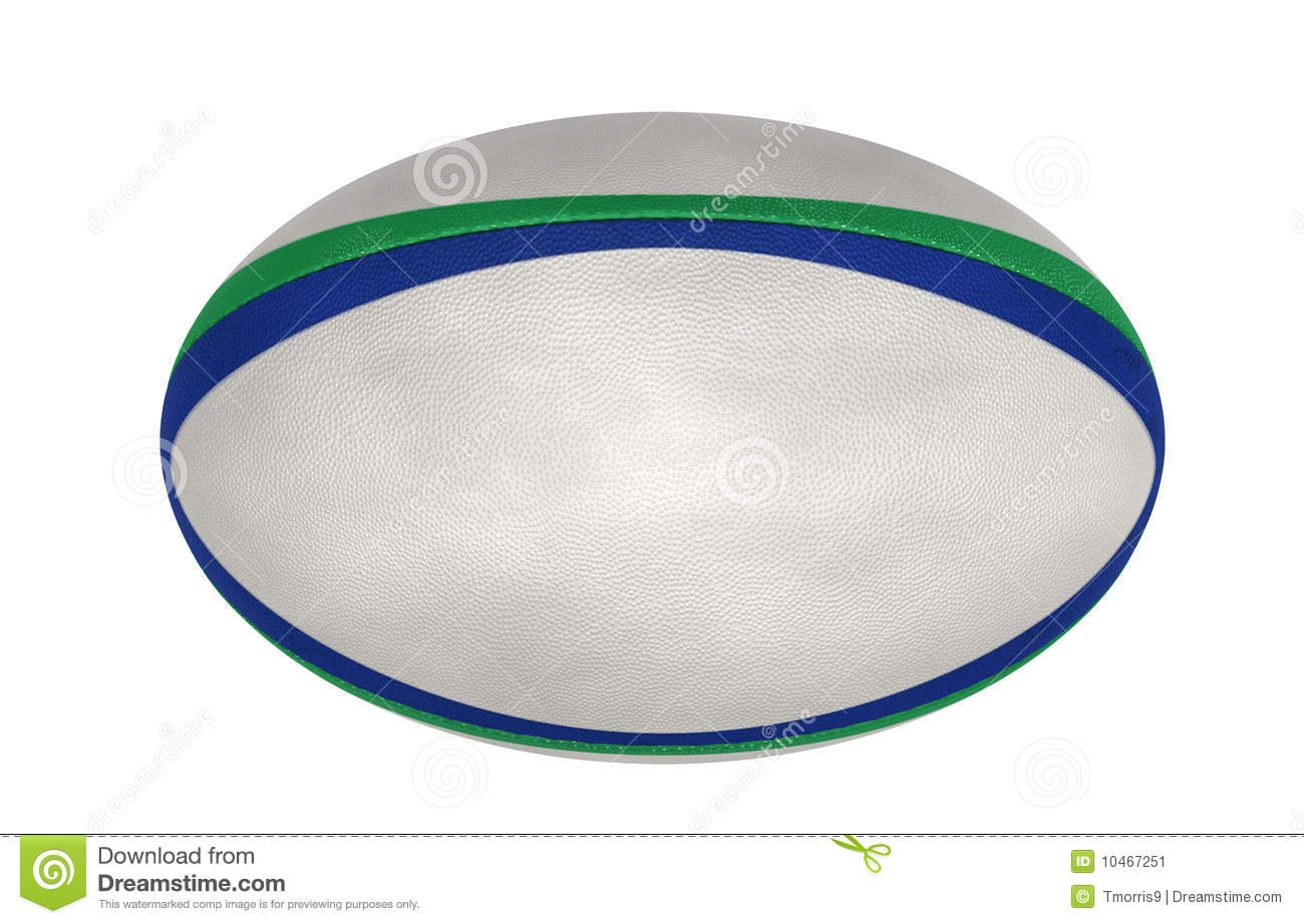 Rugby Ball Stock Image - Image: 10467251