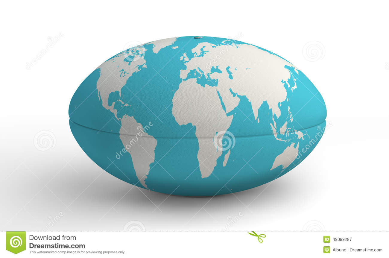Plain world map with countries stock vector image 57172185 rugby ball world map on white royalty free stock photography gumiabroncs Image collections