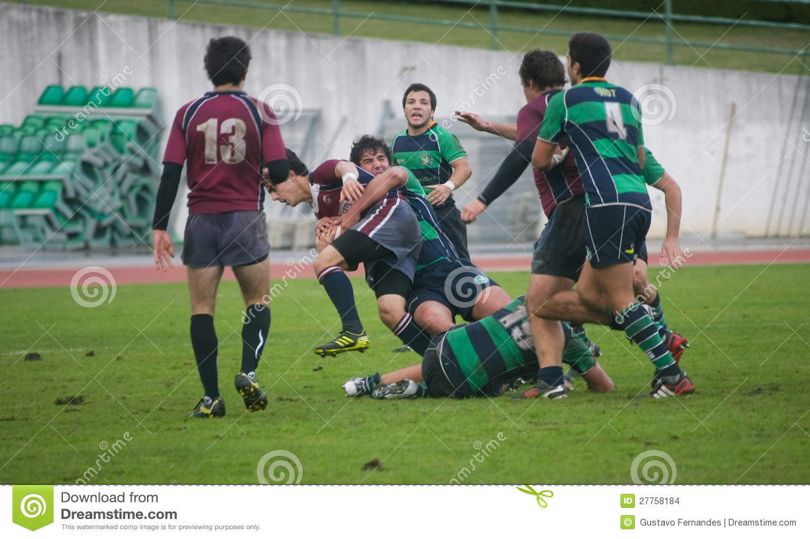 Rugby Clube de Caldas CONTRE le rugby de Evora de Clube