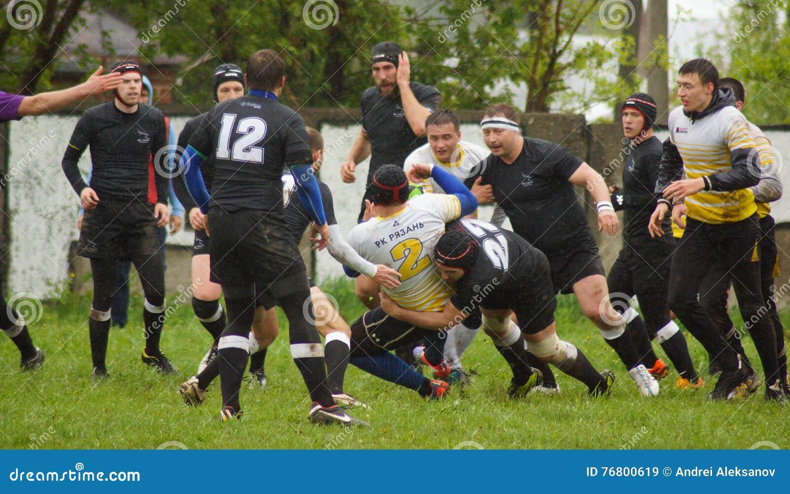Rugby Spiel